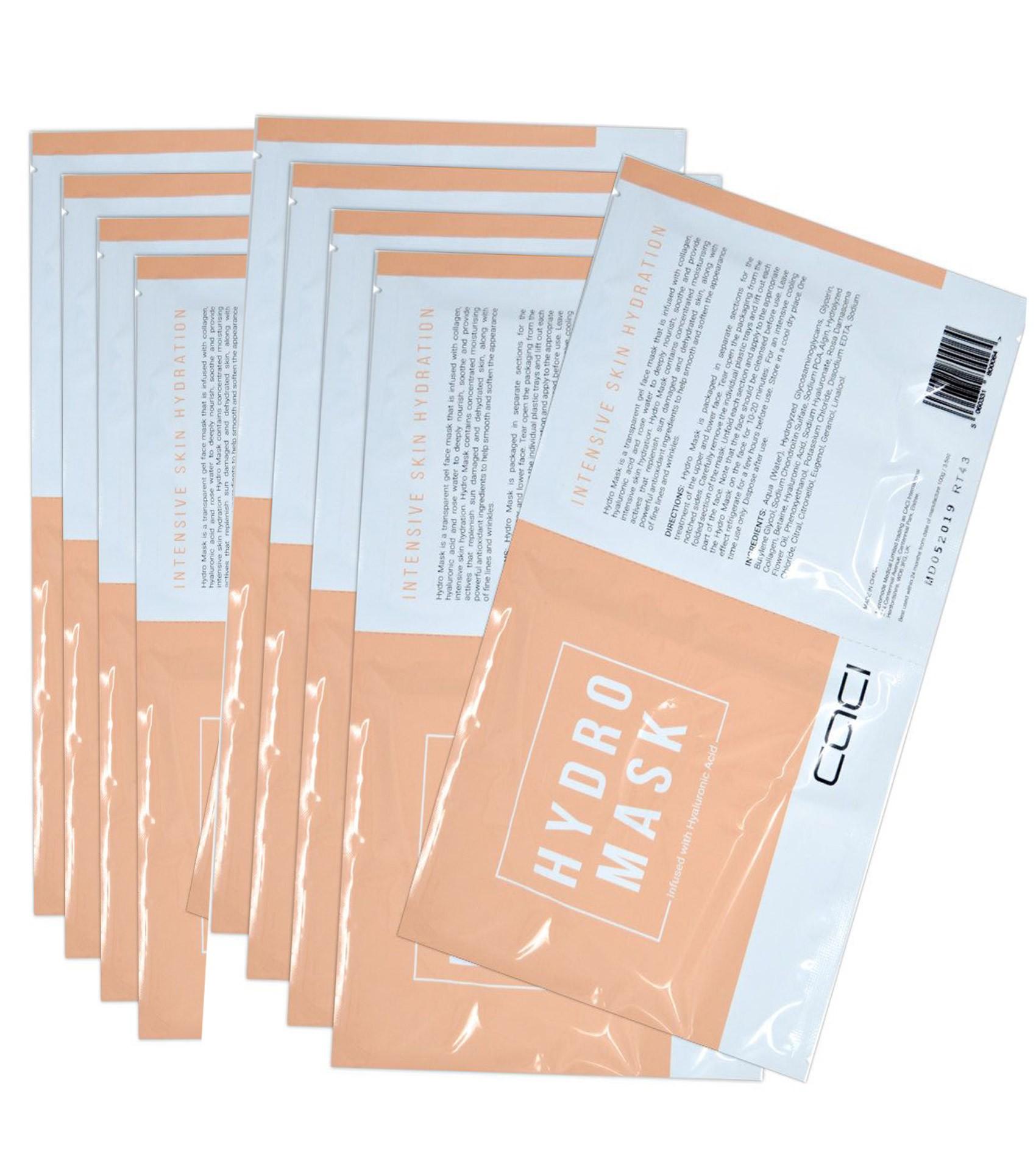 10 x Caci Hydro Masks
