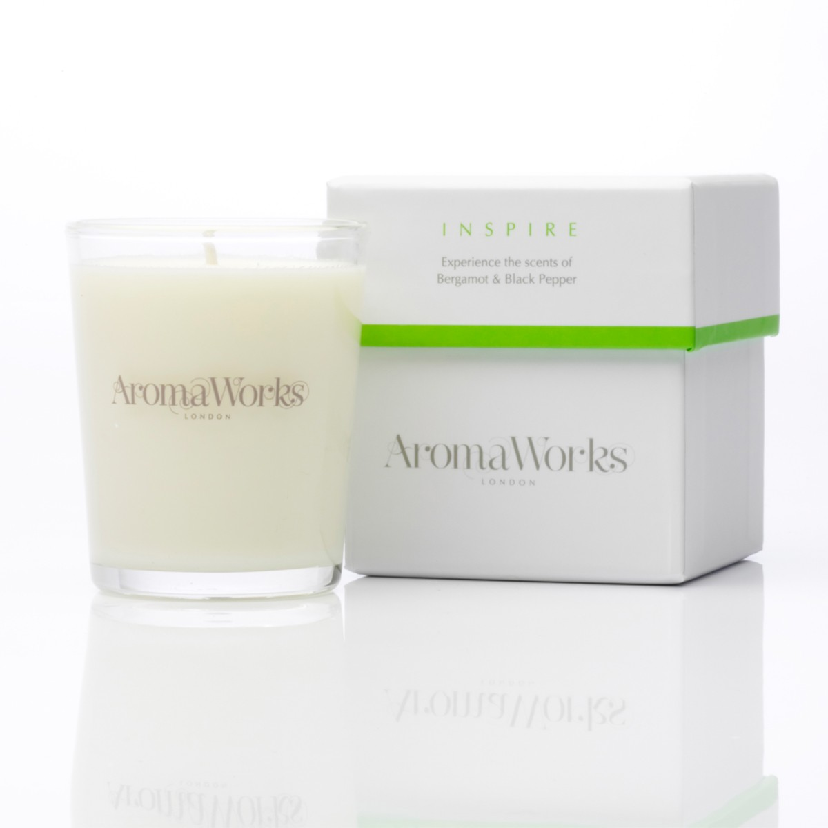 Aromaworks Inspire Candle 10 cl