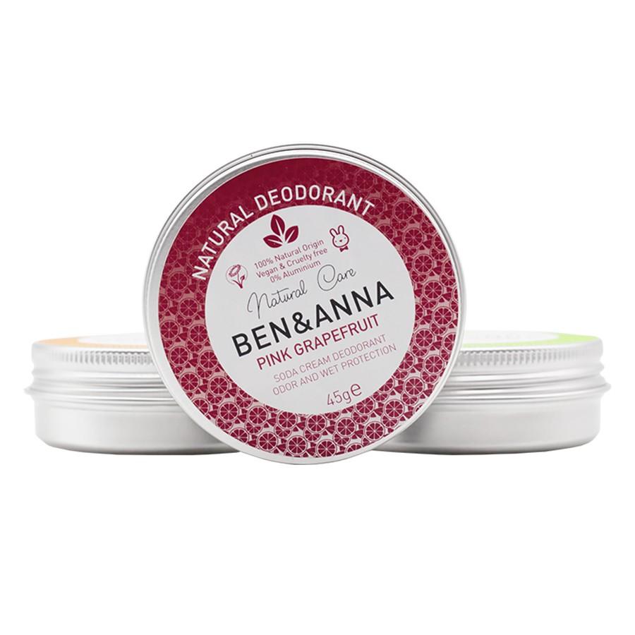 Ben & Anna Deodorant Pink Grapefruit Tin