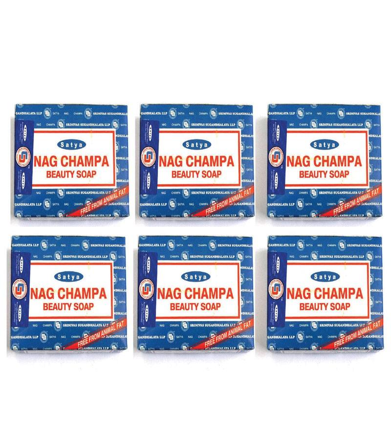 Nag Champa 6 Beauty Soaps