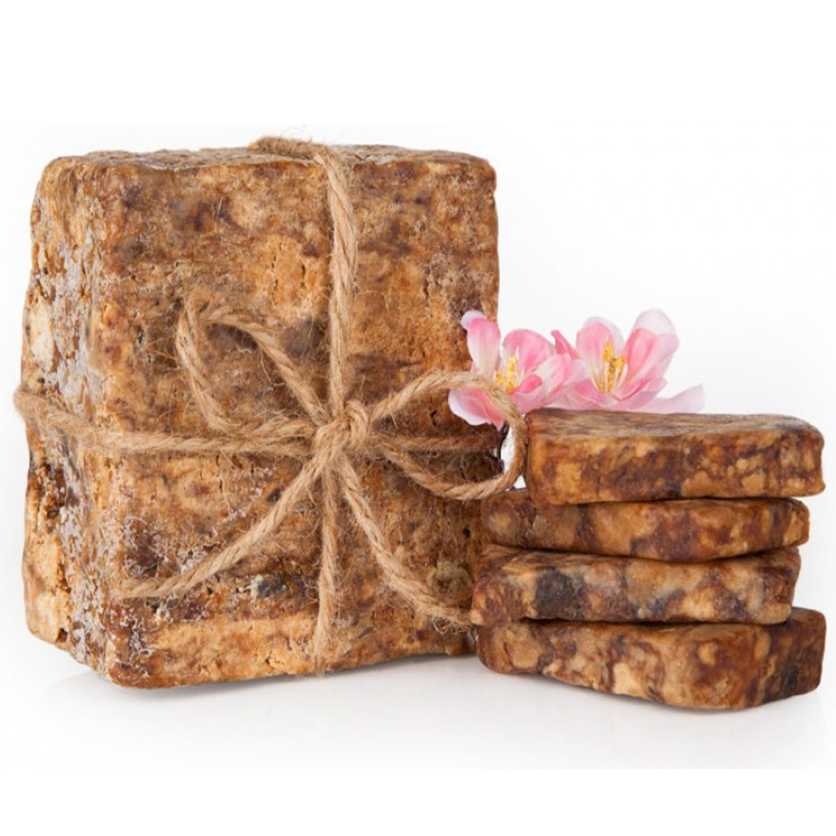 Raw Organic African Black Soap
