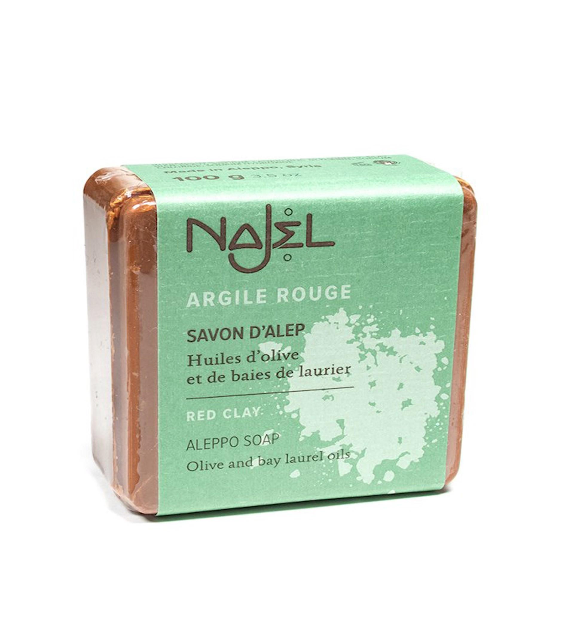 Najel Aleppo Soap Red Clay