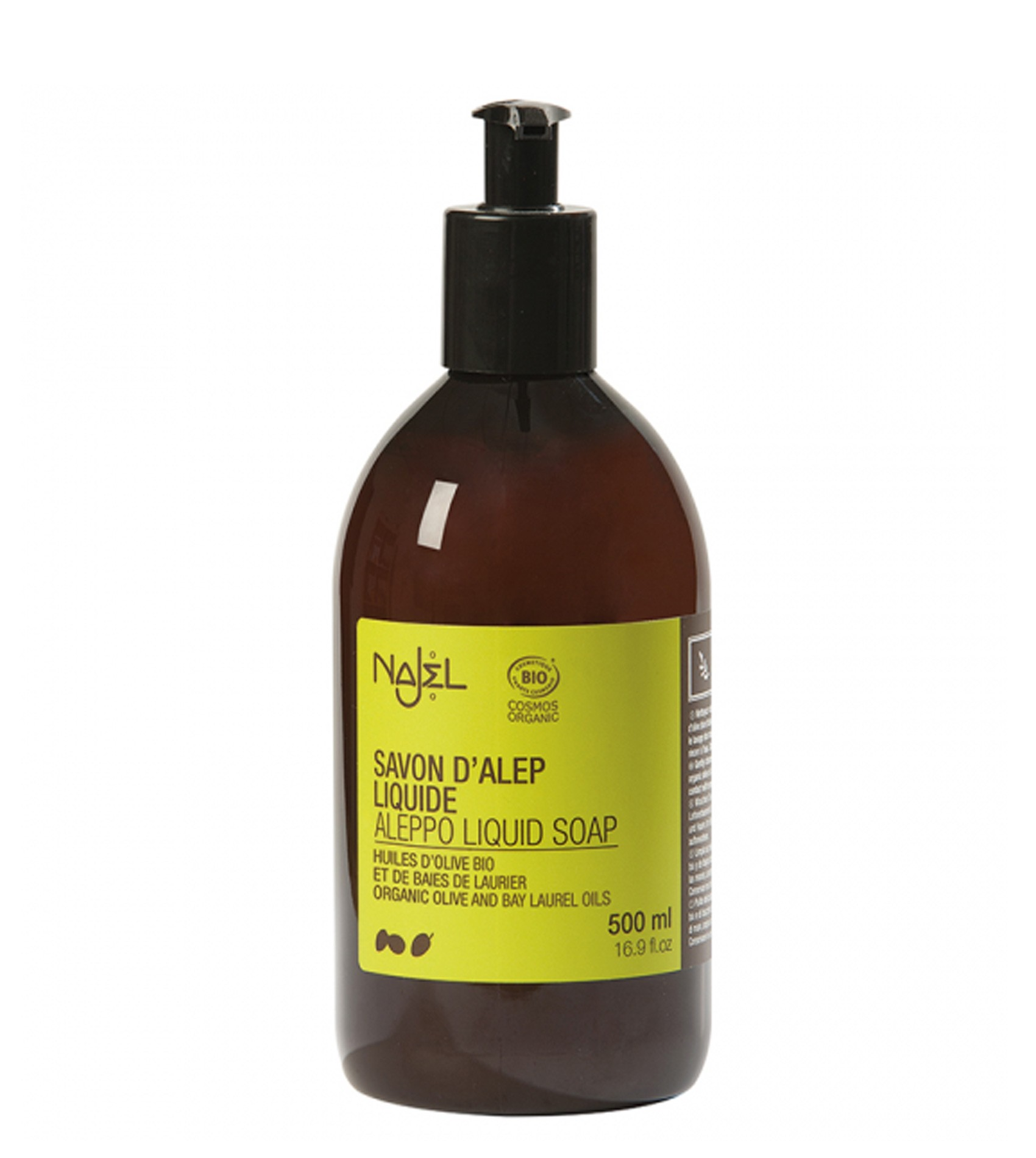 Najel Aleppo Organic Liquid soap with Dispenser