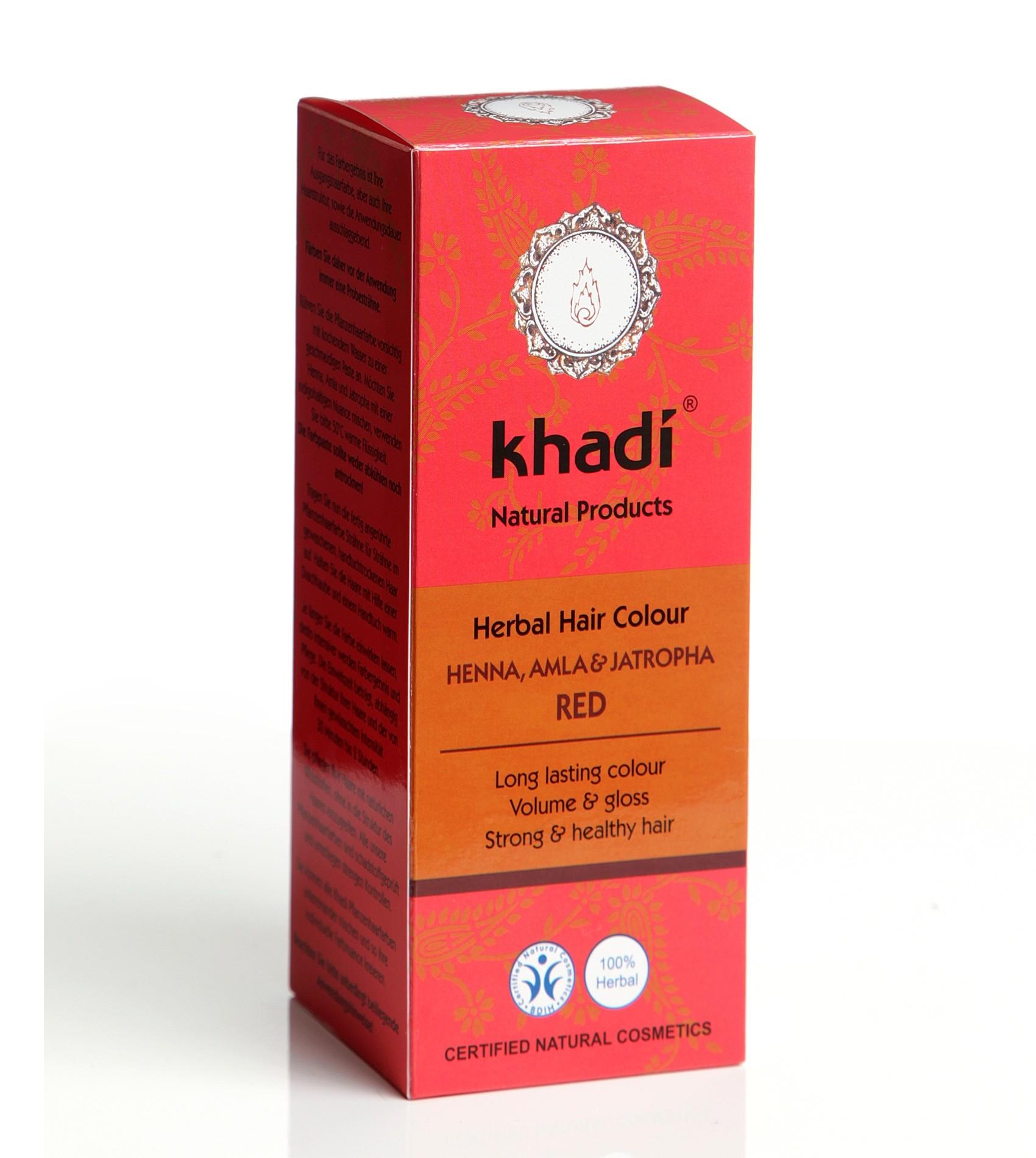 Khadi Herbal Hair Colour Henna Amla & Jatropha