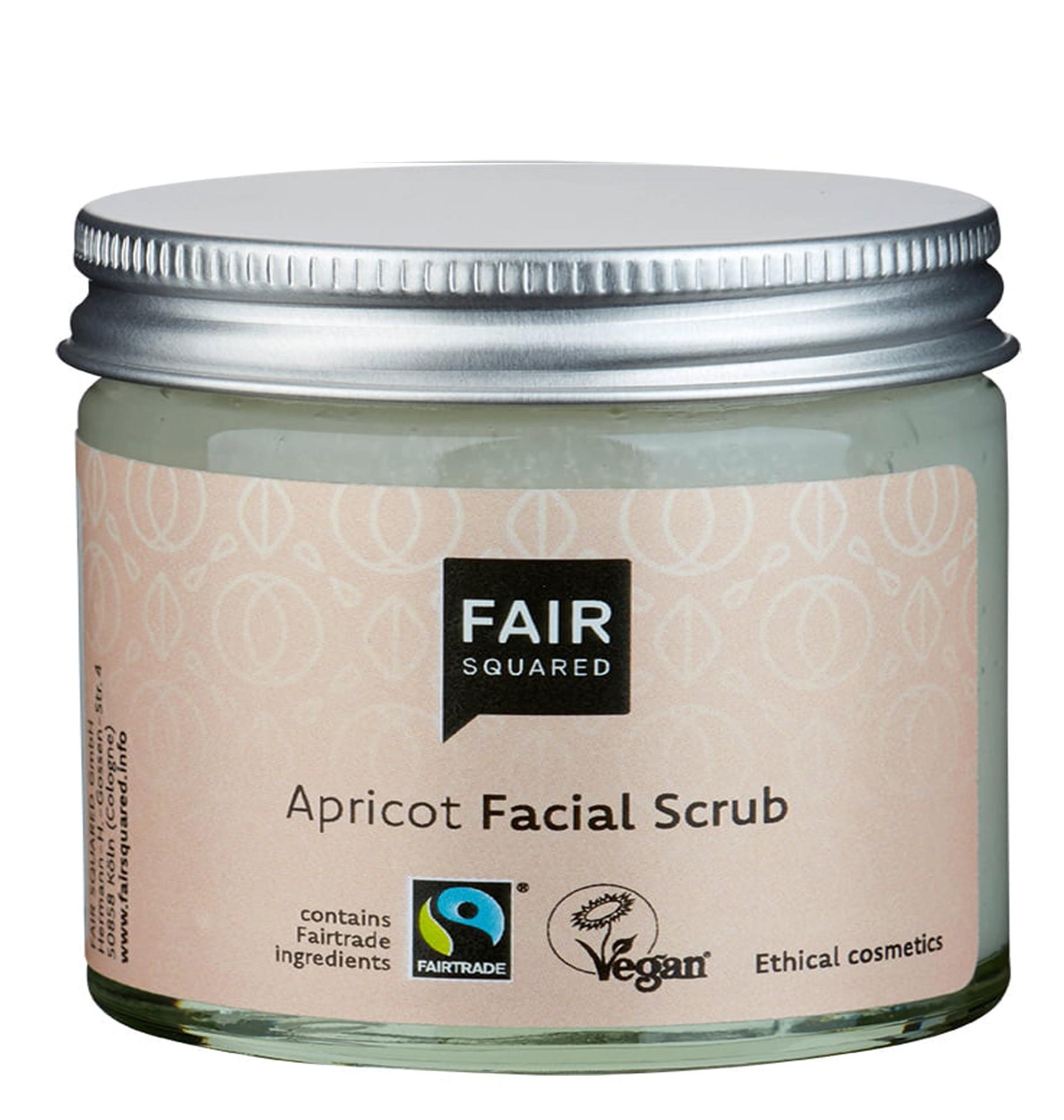 Fair Square Apricot Facial Scrub