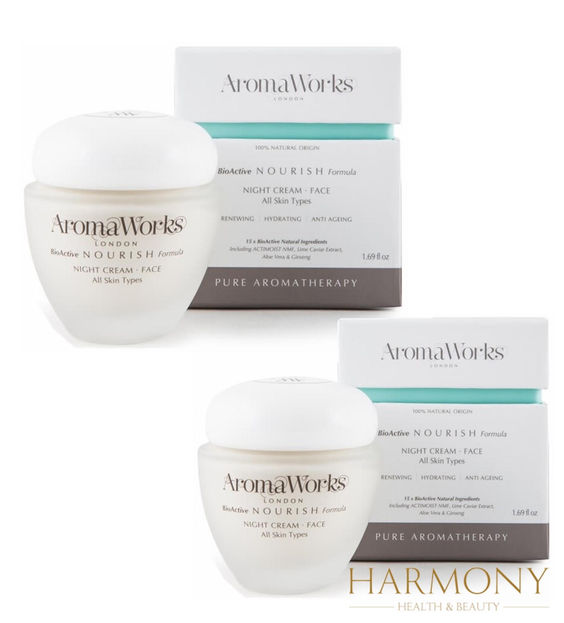 2 x AromaWorks Nourish Night Cream