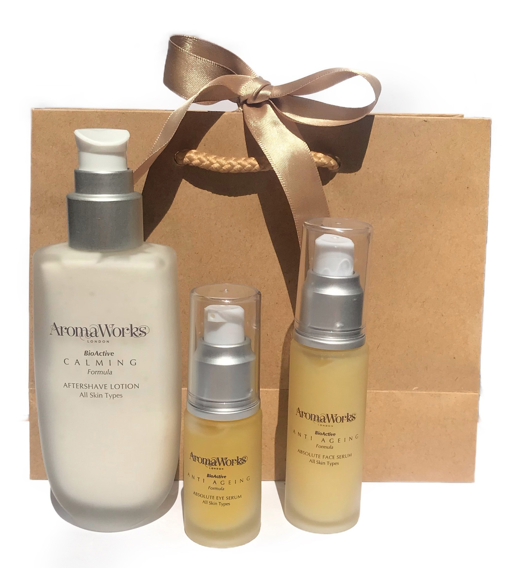 AromaWorks Mens Skin Care Gift Set