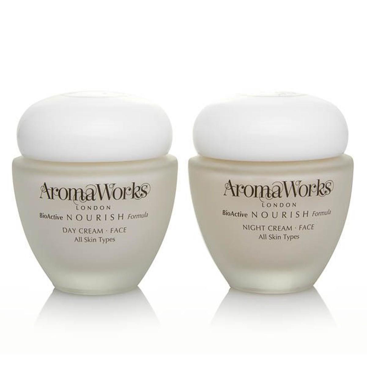 AromaWorks Nourish Day & Night Cream Set