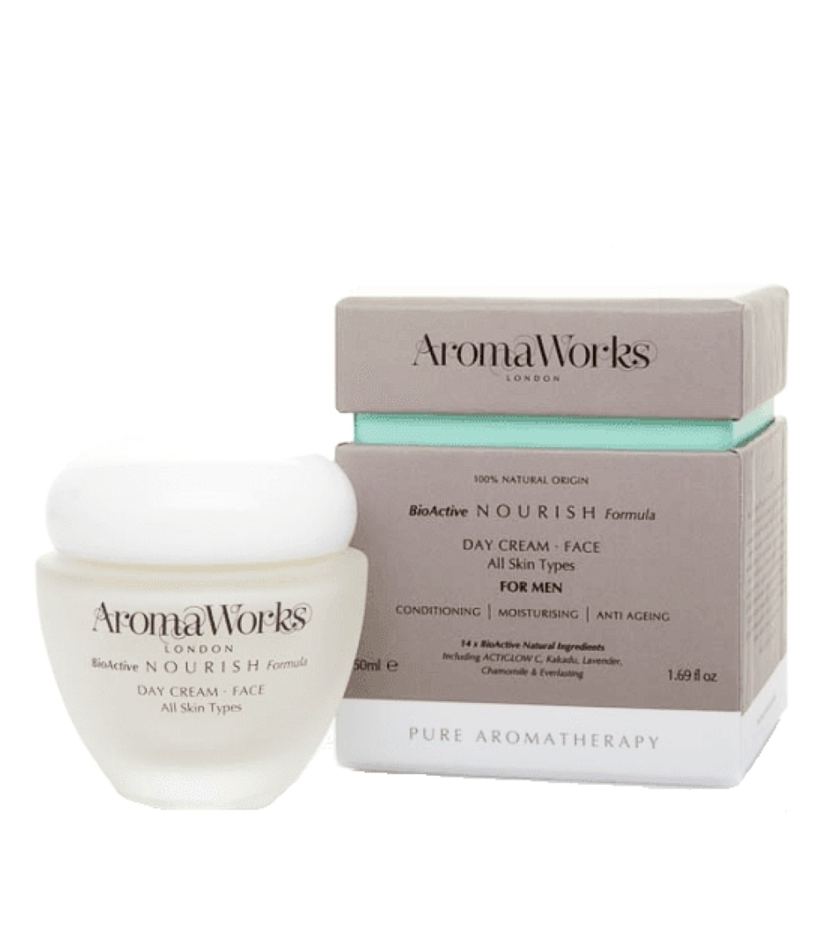 AromaWorks Mens Nourish Day Cream