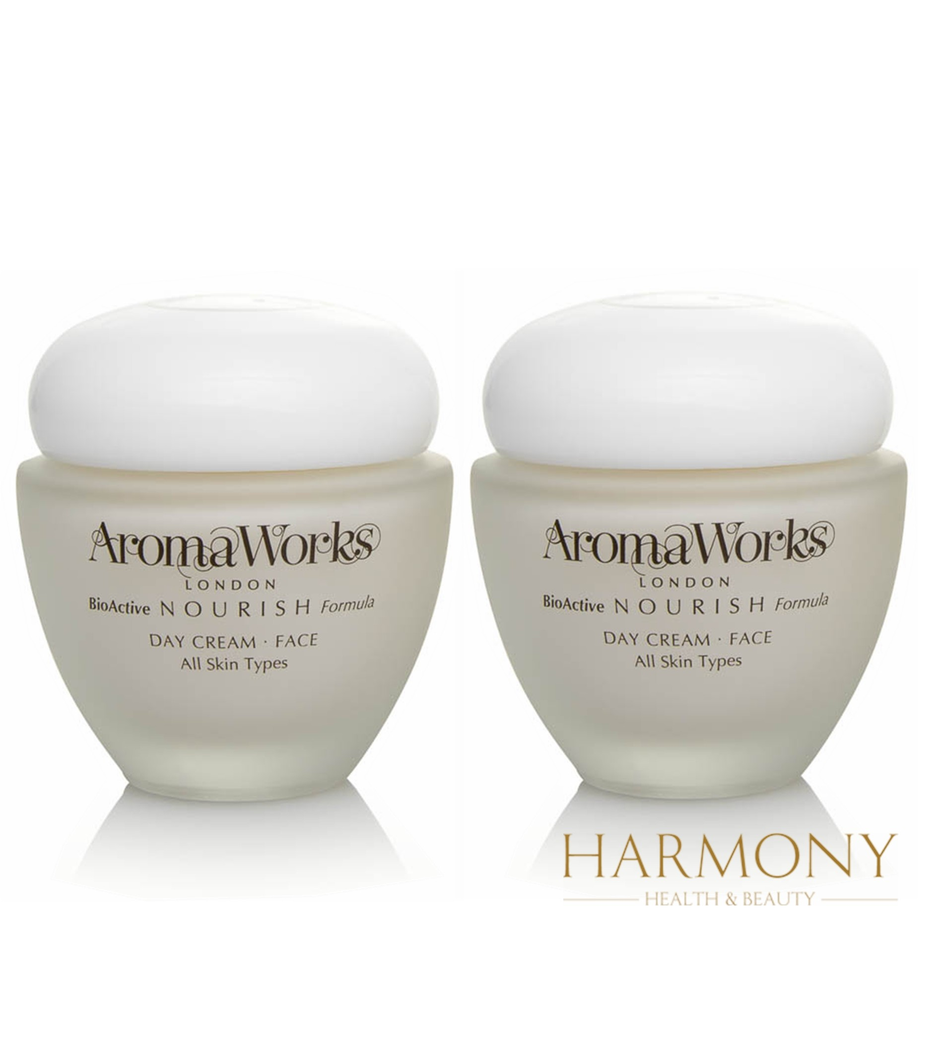 2 x AromaWorks Nourish Day Cream