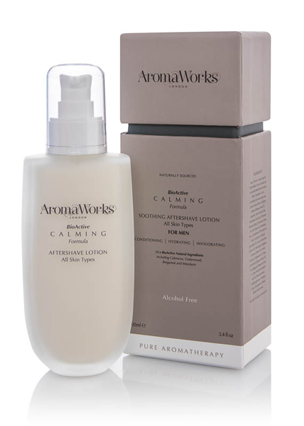 AromaWorks Calming Aftershave Lotion