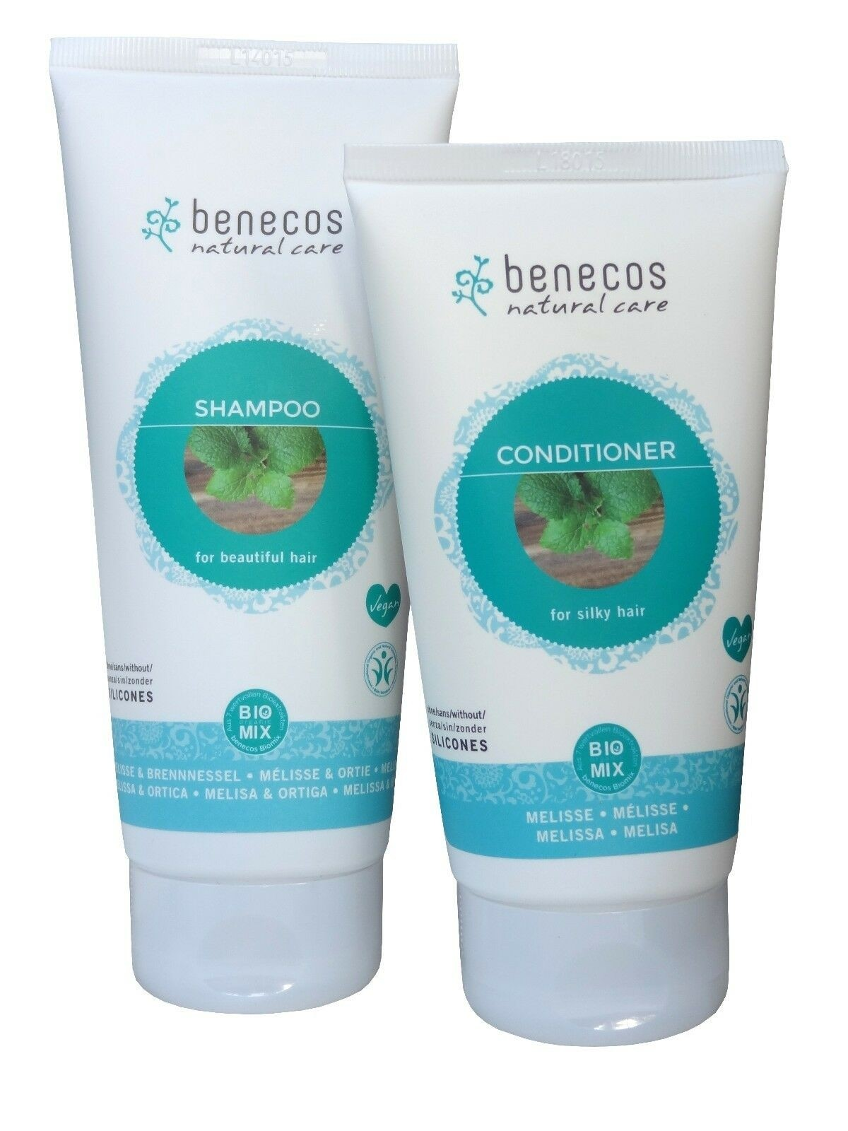 Benecos Melissa & Nettle Shampoo & Conditioner