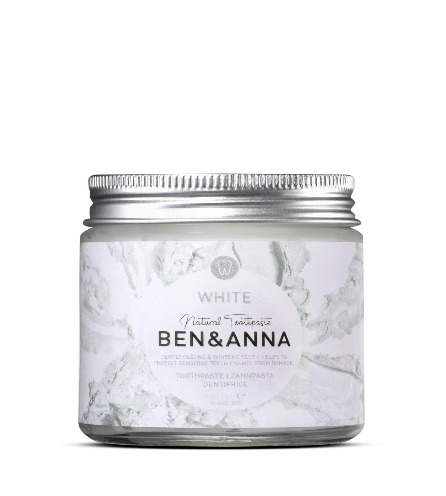 Ben & Anna Toothpaste White