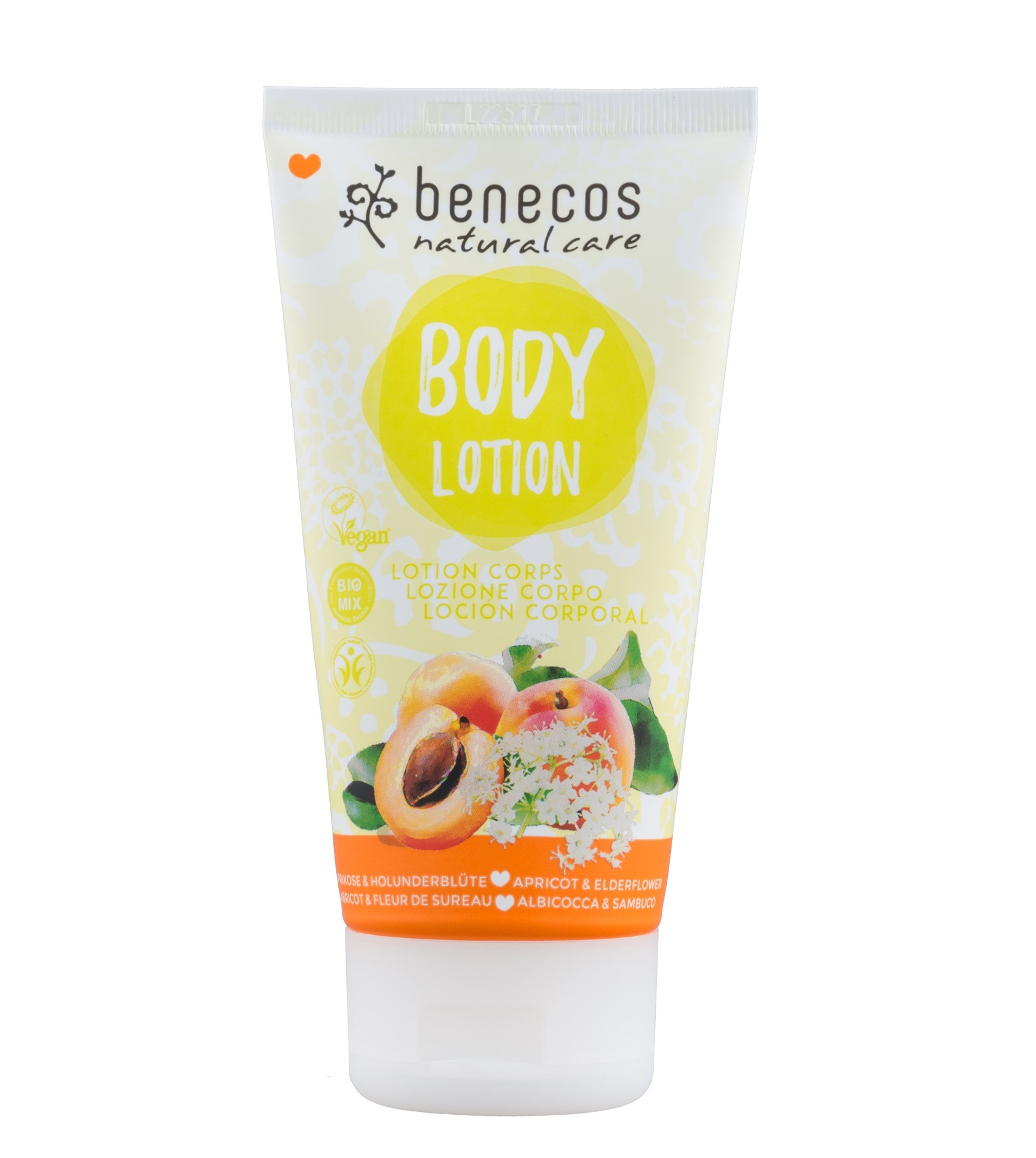 Benecos Vegan Apricot & Elderflower Body Lotion