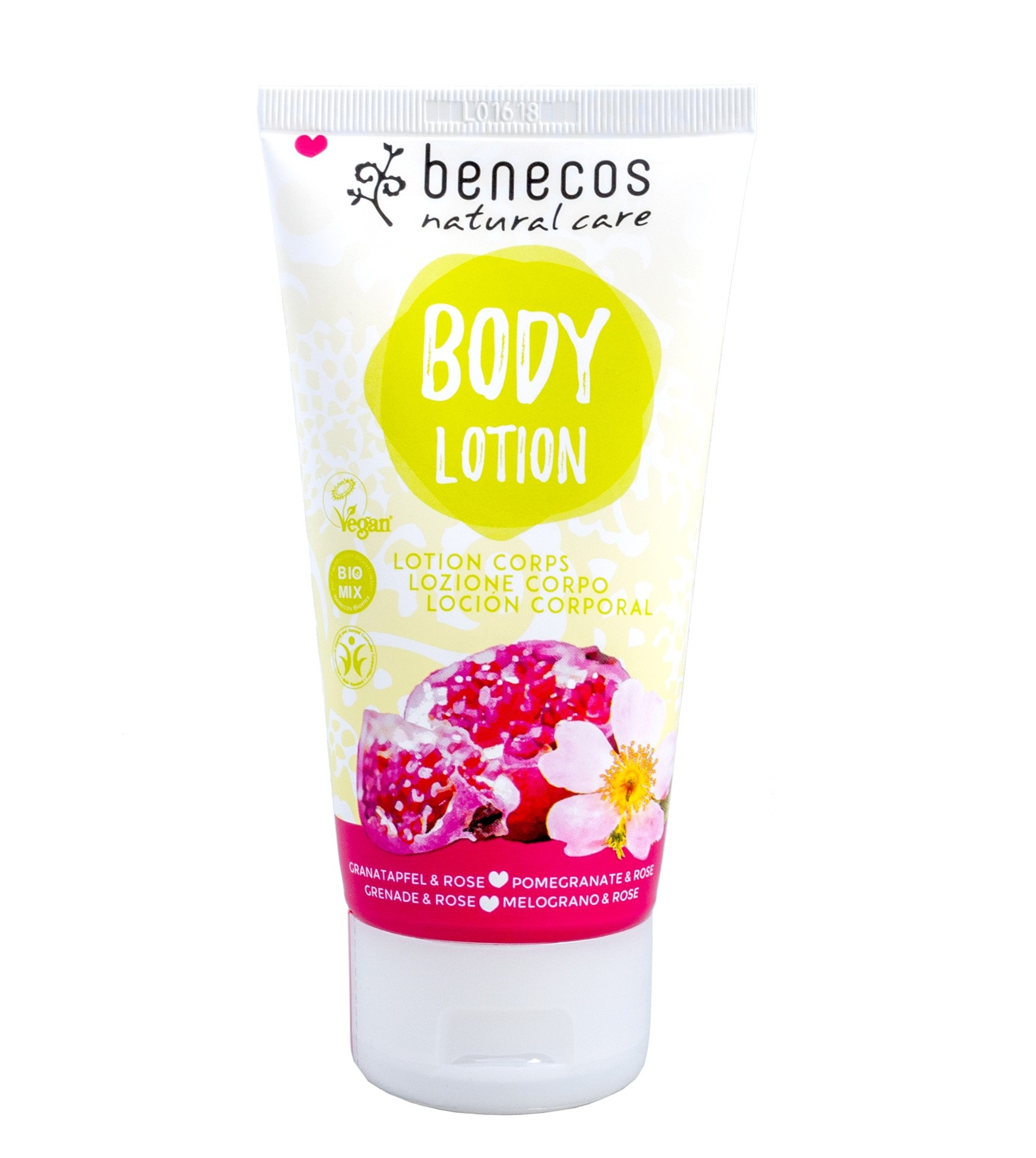Benecos Vegan Pomegranate & Rose Body Lotion