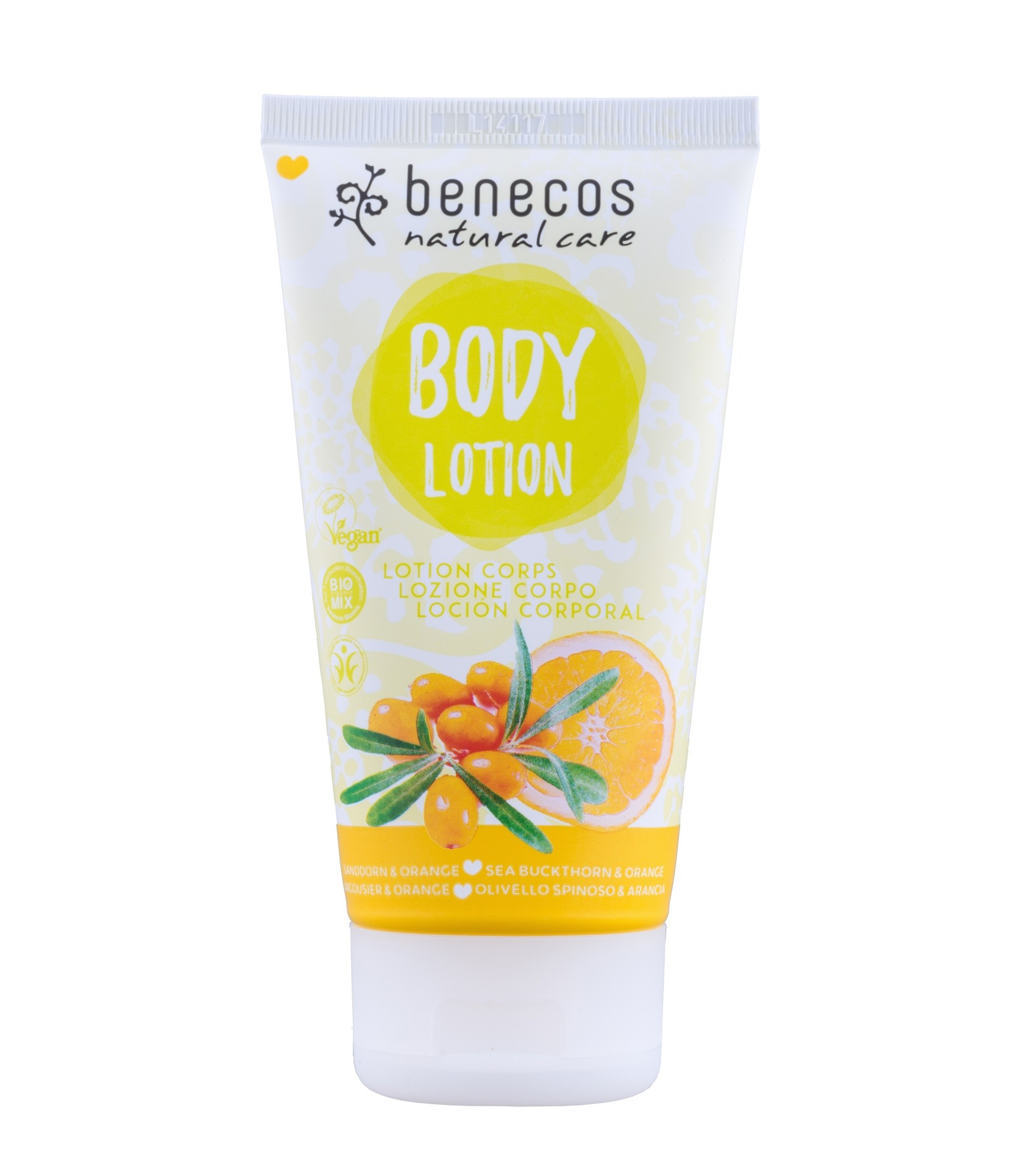 Benecos Vegan Sea Buckthorn & Orange Body Lotion