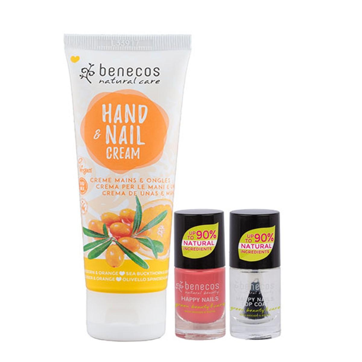 Benecos Hand & Nail Cream with Nail Polish Set