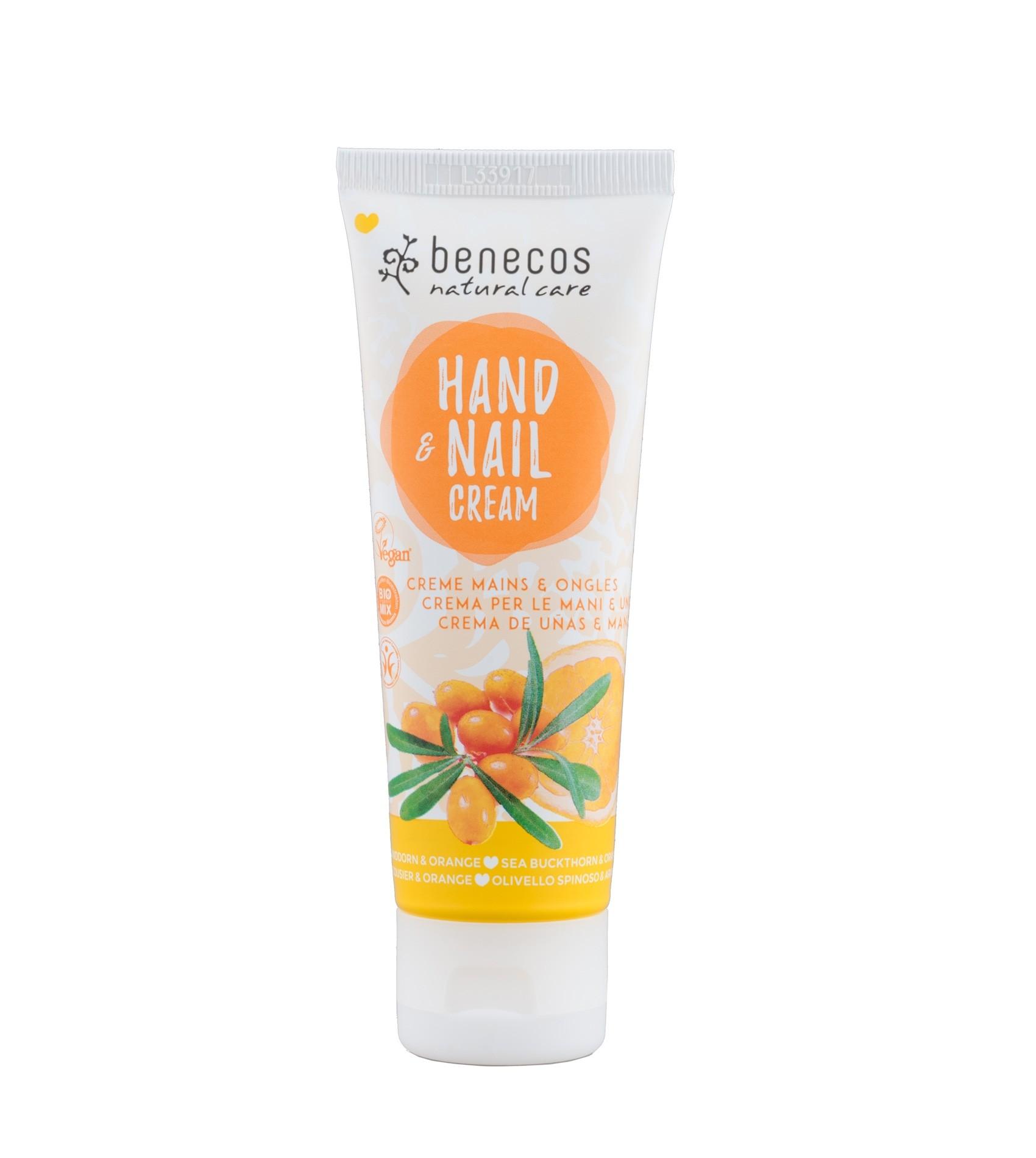 Benecos Vegan Hand & Nail Cream Sea Buckthorn & Orange