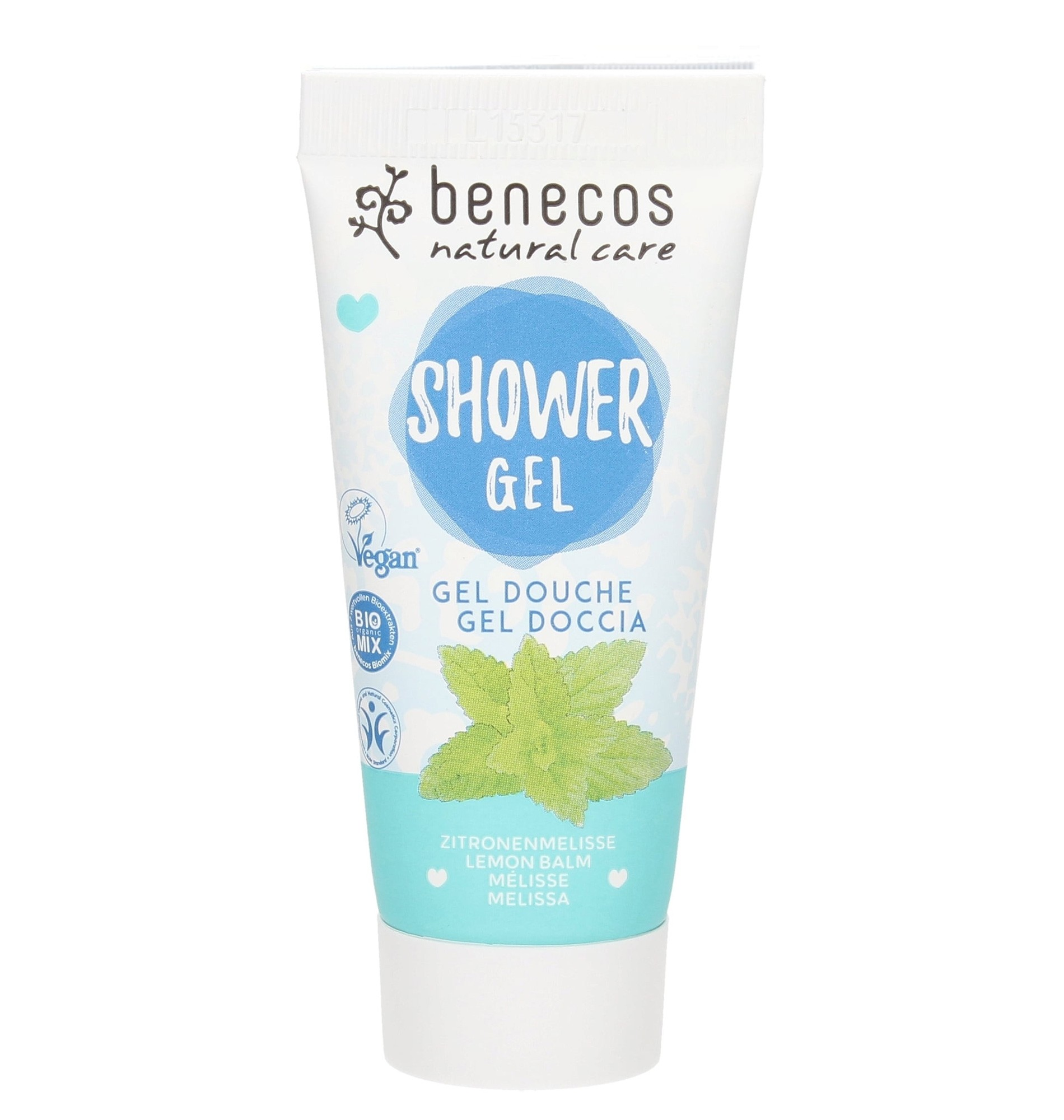 Benecos Vegan Melissa Natural Shower Gel