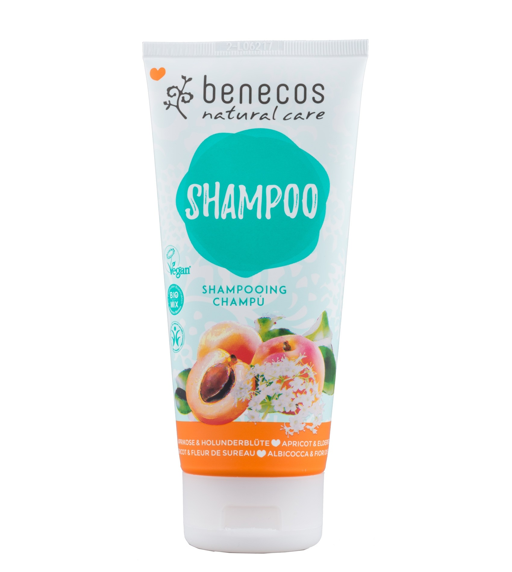Benecos Natural Shampoo Apricot & Elderflower