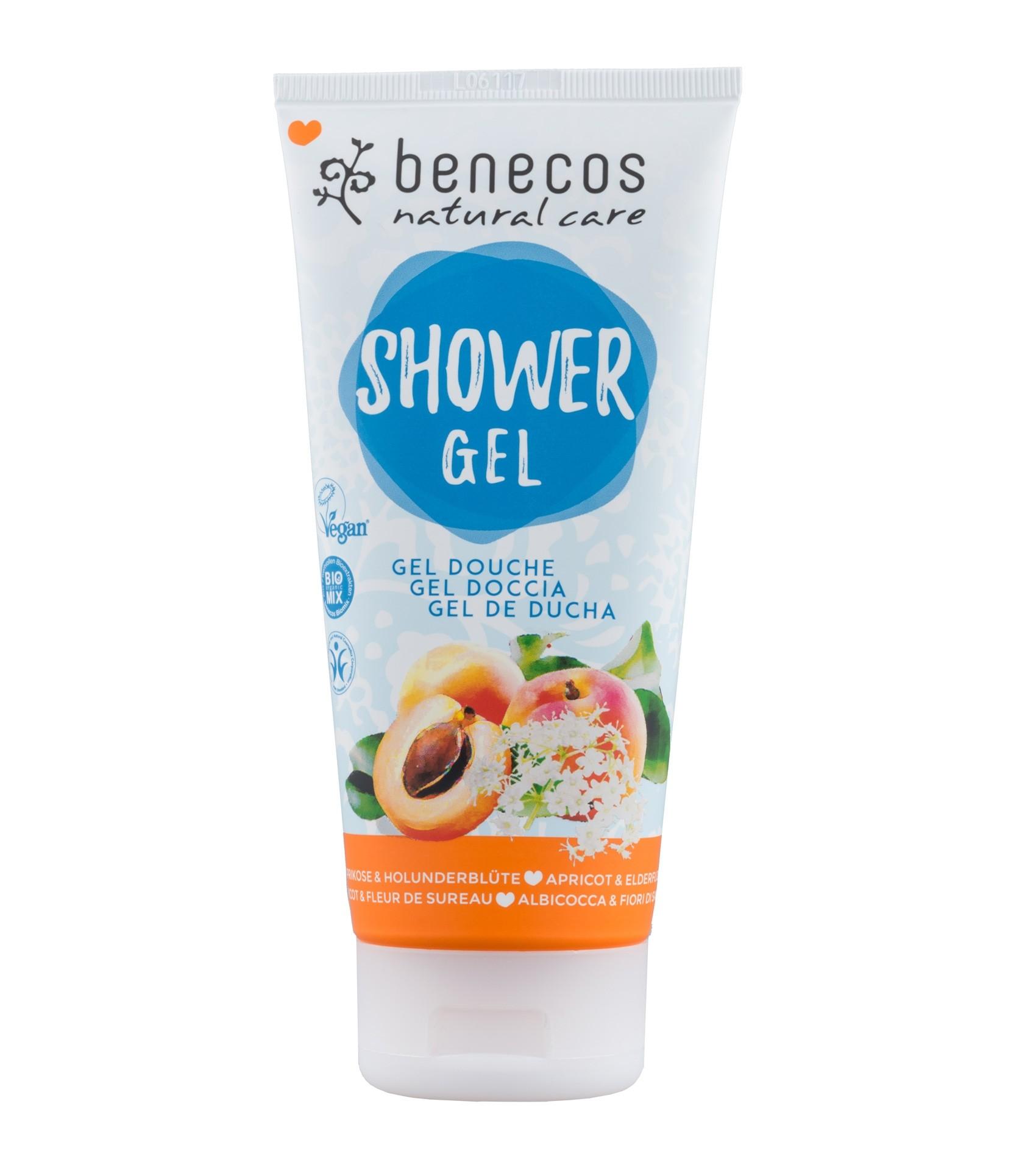 Benecos Vegan Apricot & Elderflower Shower Gel