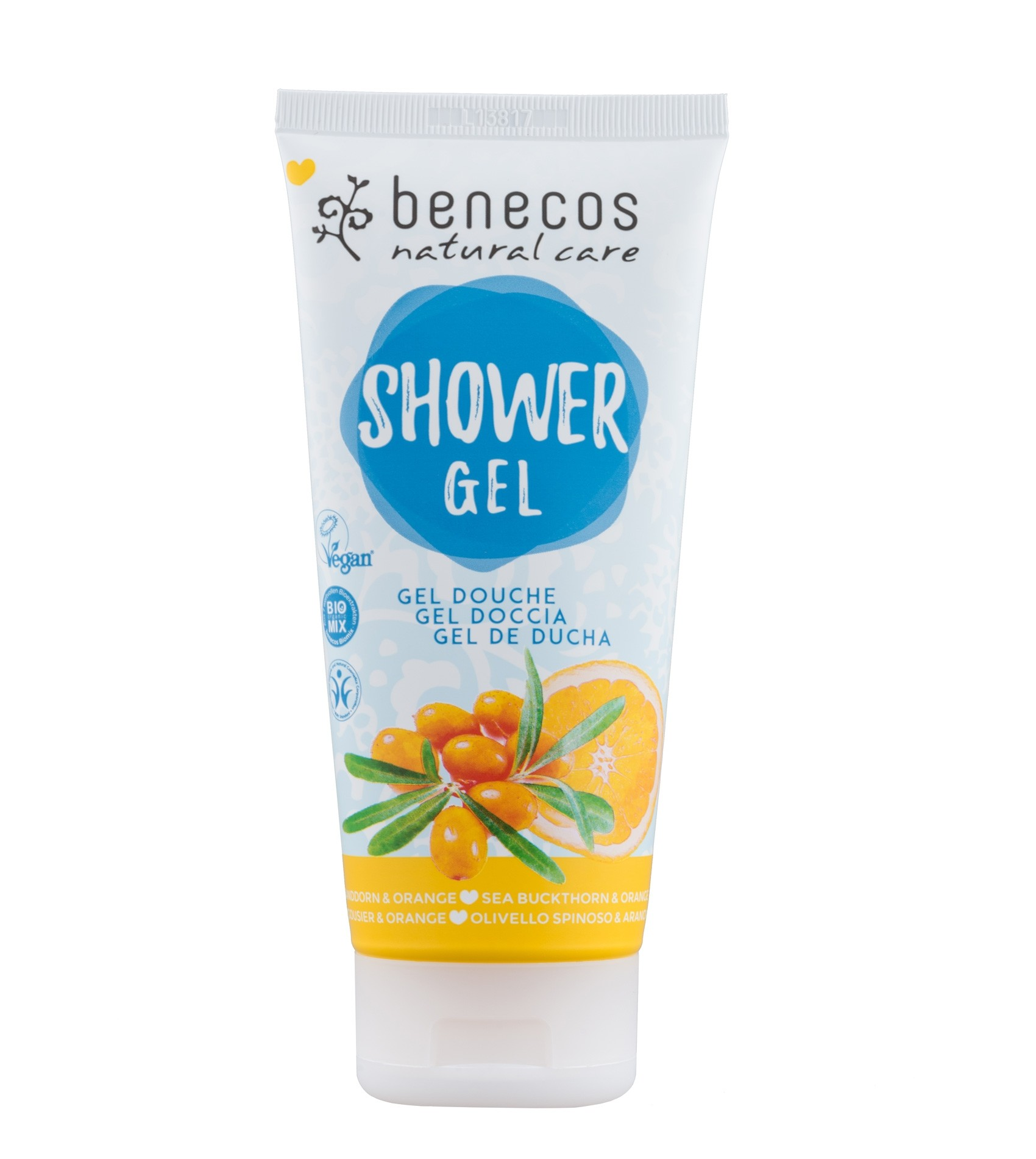 Benecos Vegan Sea Buckthorn & Orange Shower Gel