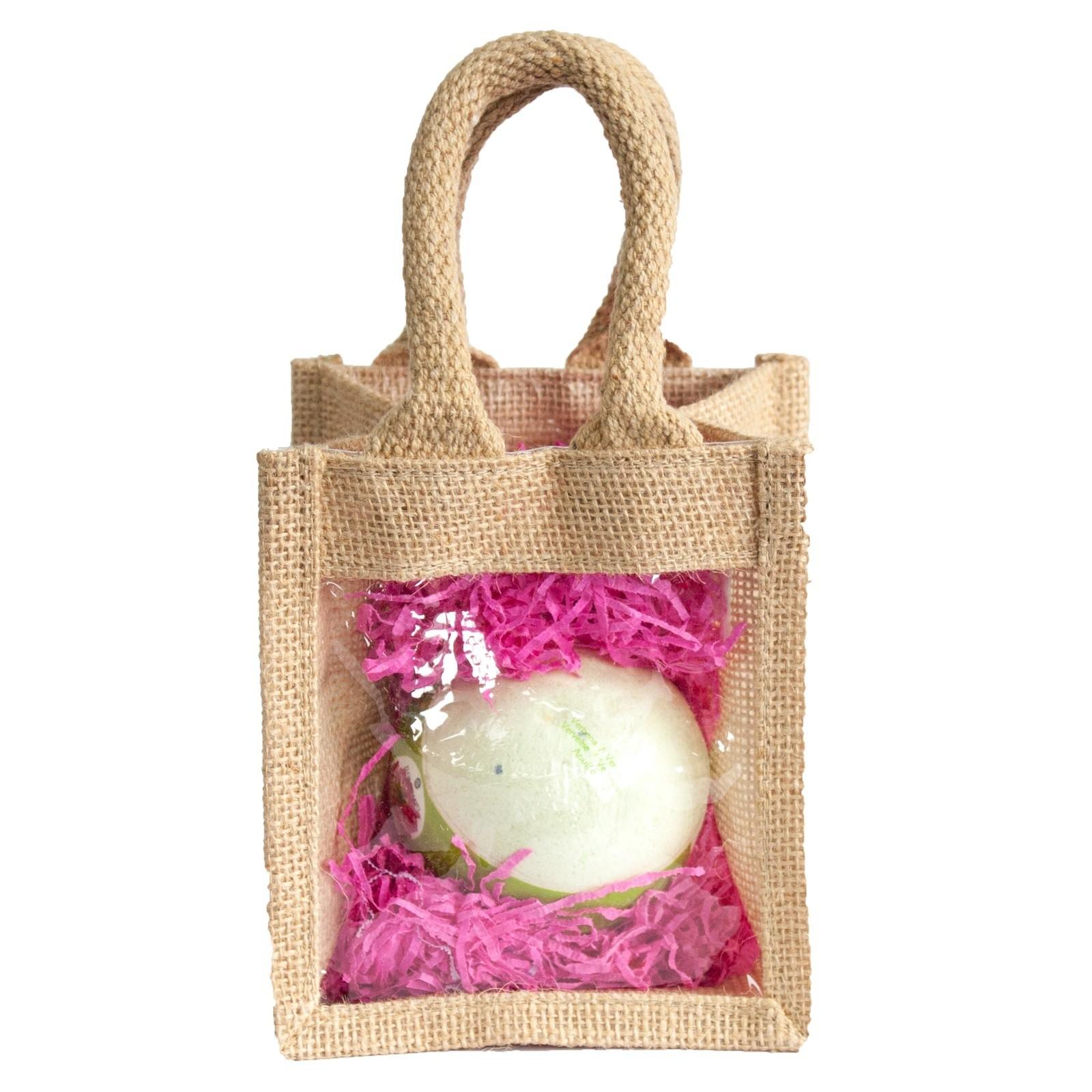 Bath Bomb Jute Bag Set