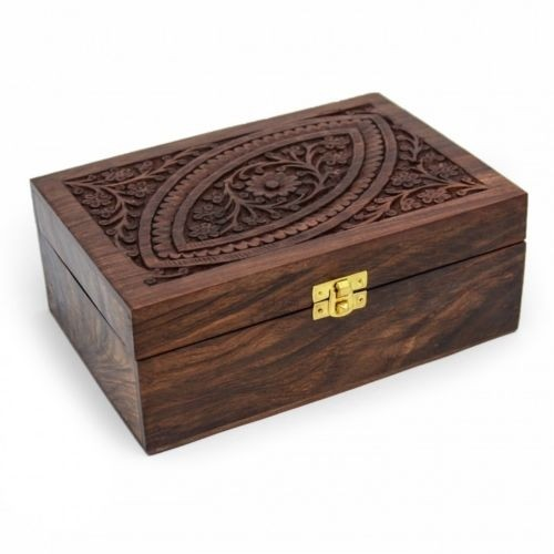 Rosewood Aromatherapy Oils Box Container 24 Oils