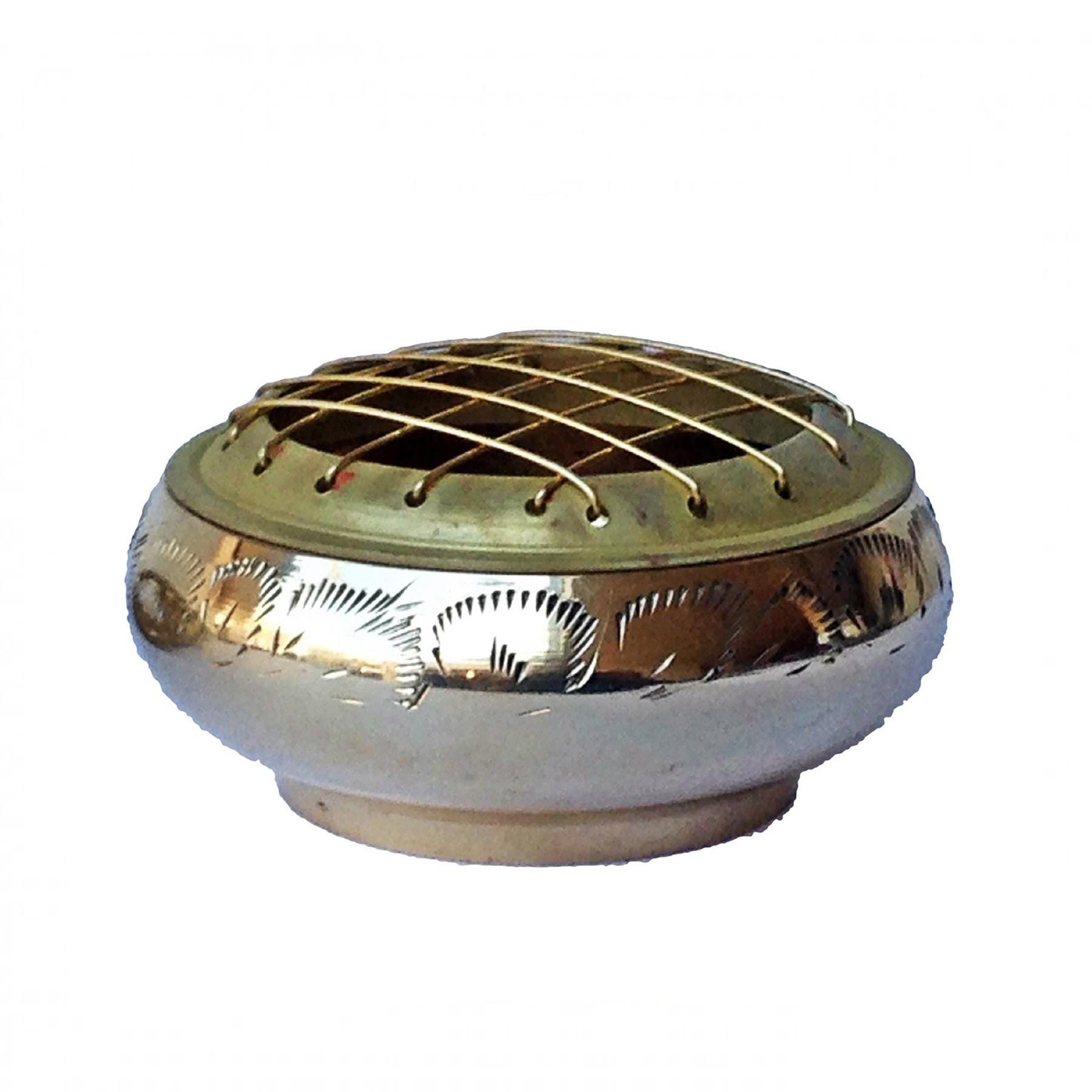 Brass Incense Burner Bowl