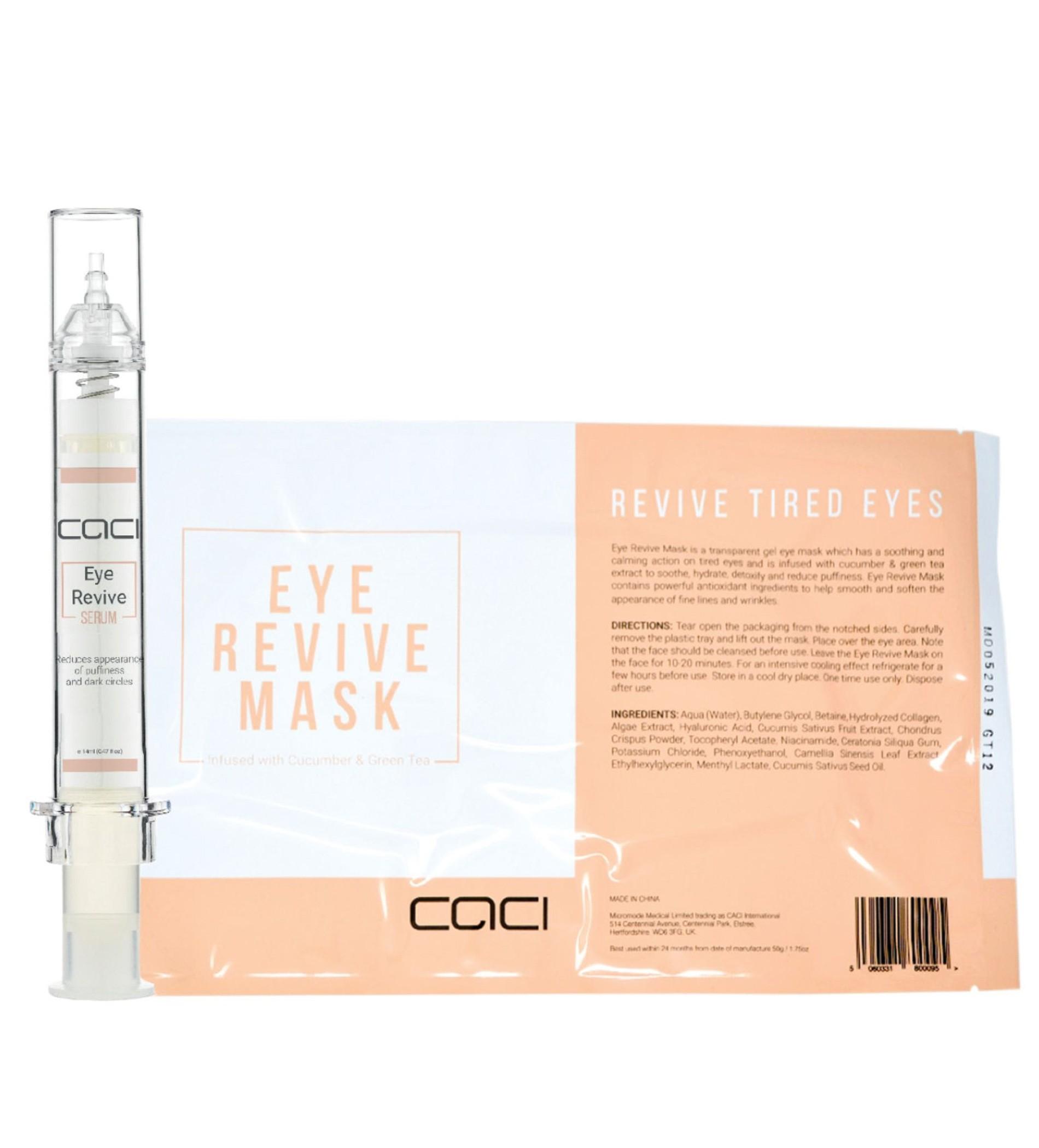 Caci Eye Revive Set - Eye Revive Serum & Mask