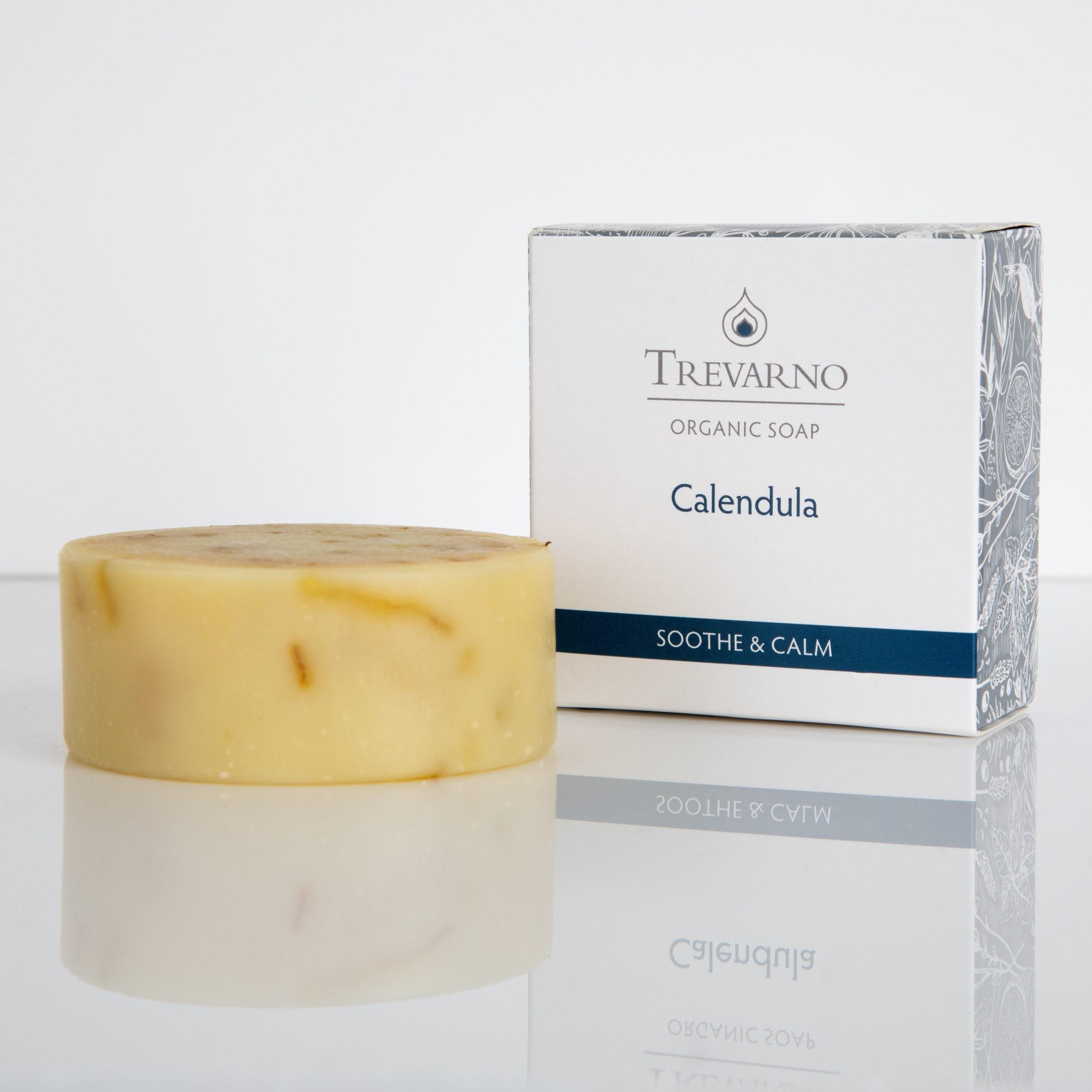 Organic Trevarno Organic Calendula Soap