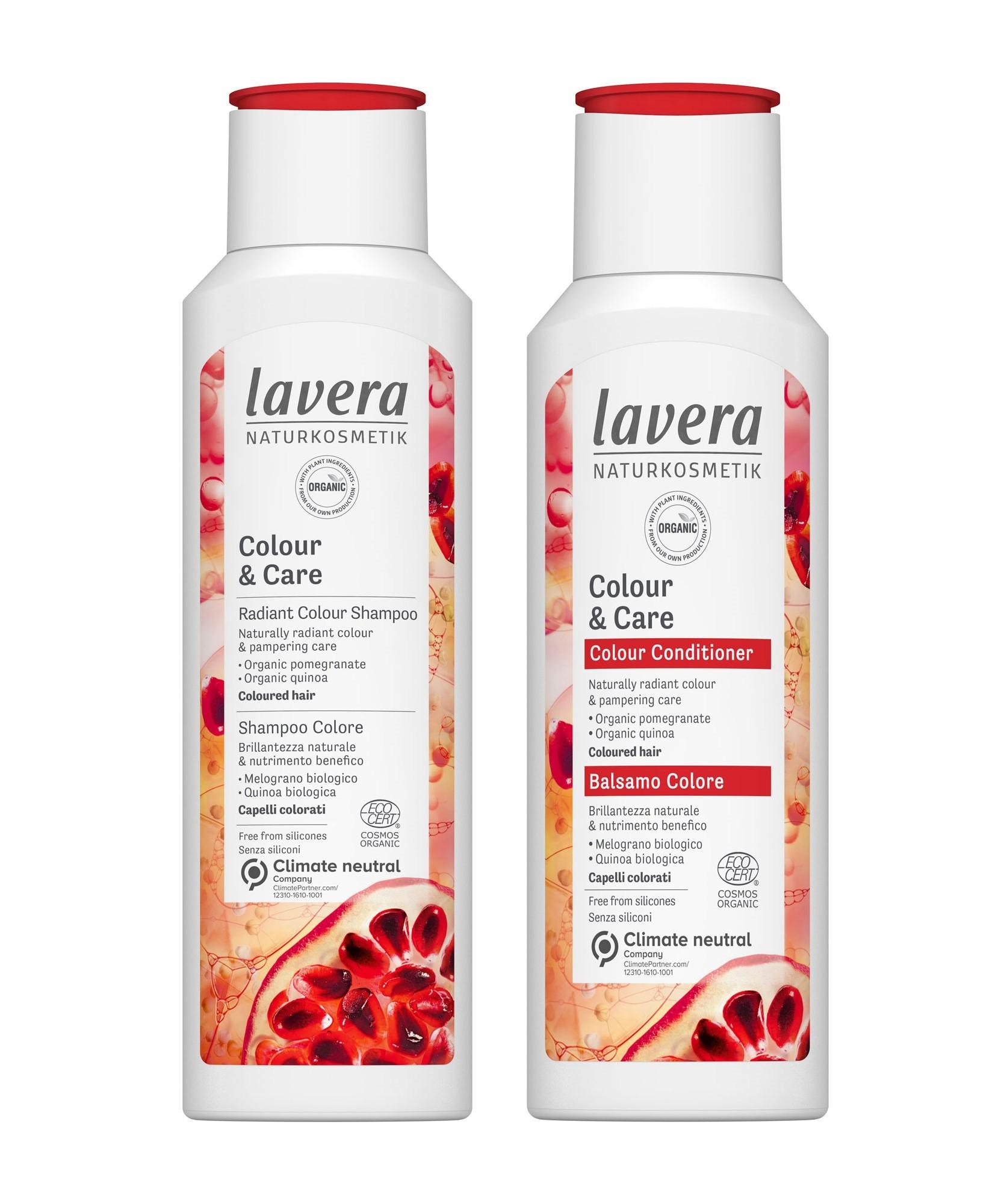 Lavera Colour & Shine Shampoo & Conditioner Set