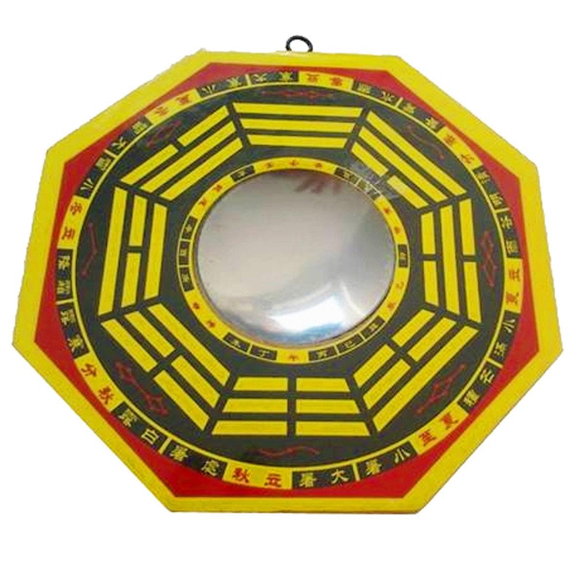 Feng Shui Bagua Mirror Concave