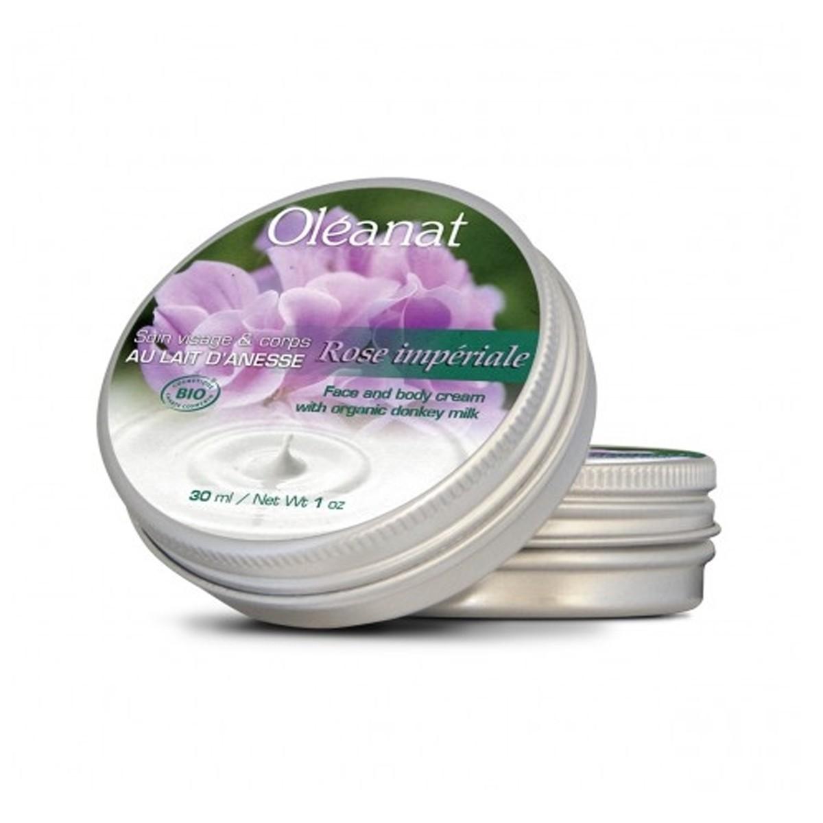 Oléanat Organic Moisturiser Donkey Butter Milk & Rose