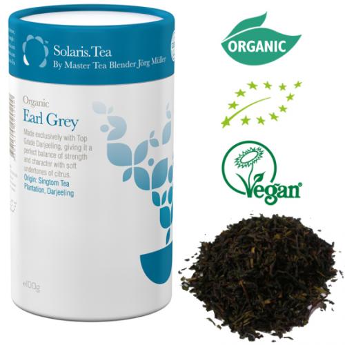 Solaris Organic Earl Grey Tea Award Winning