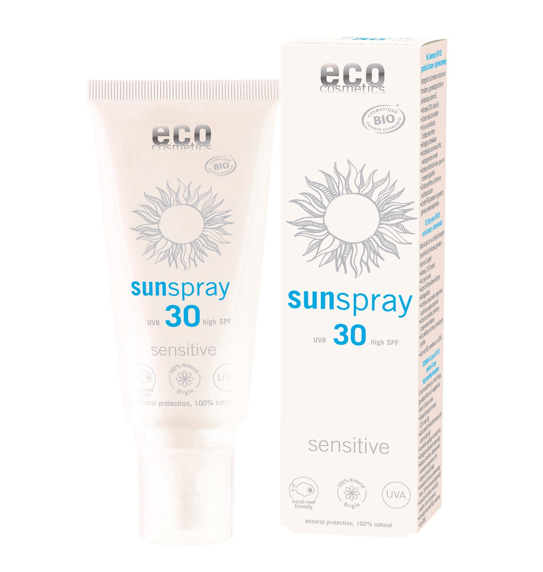 Eco Cosmetics Sun Protection Spray SPF 30