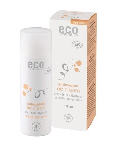 Eco Cosmetics Tinted CC Cream Antioxidant SPF 30