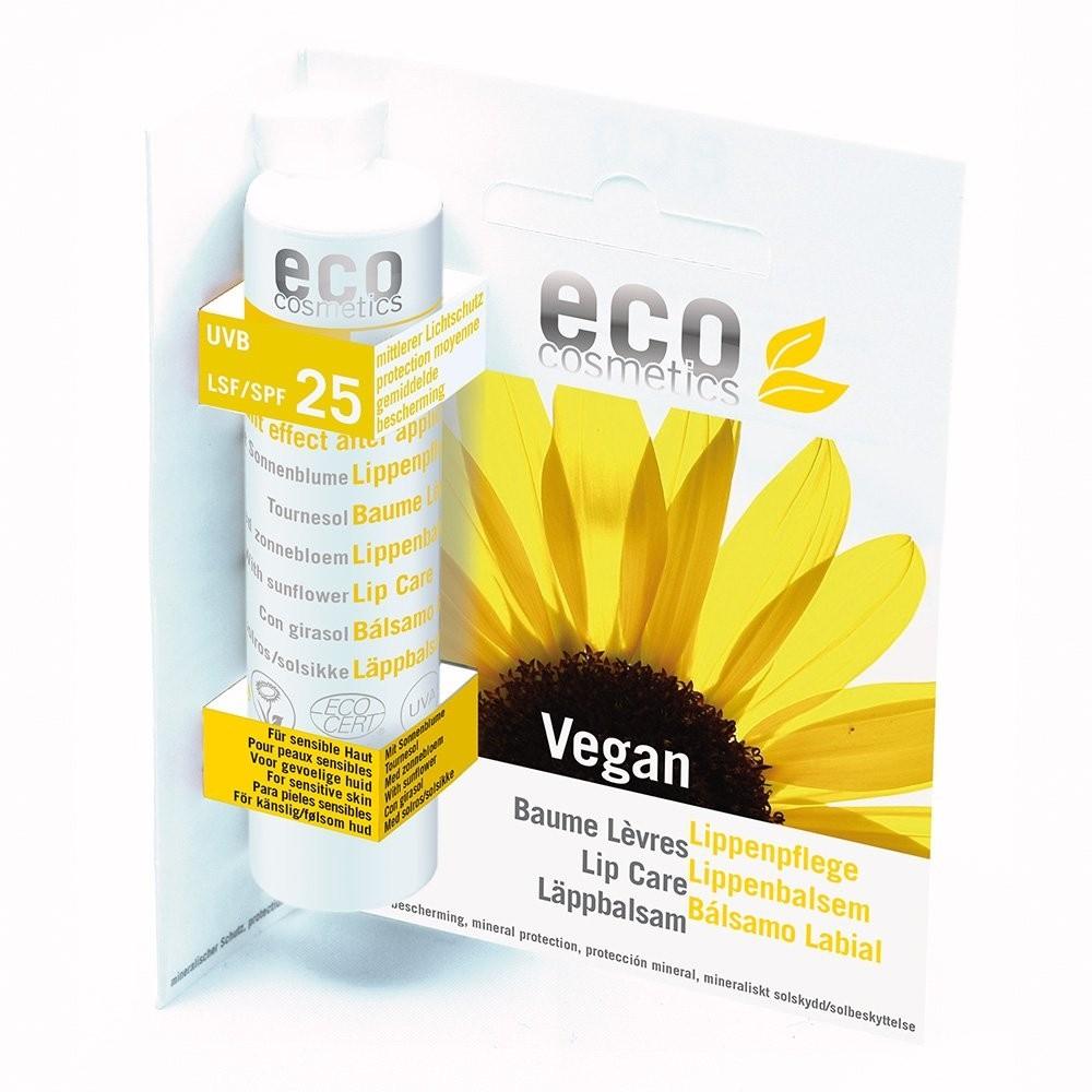 Eco Cosmetics Organic Lip Care Stick SPF 25