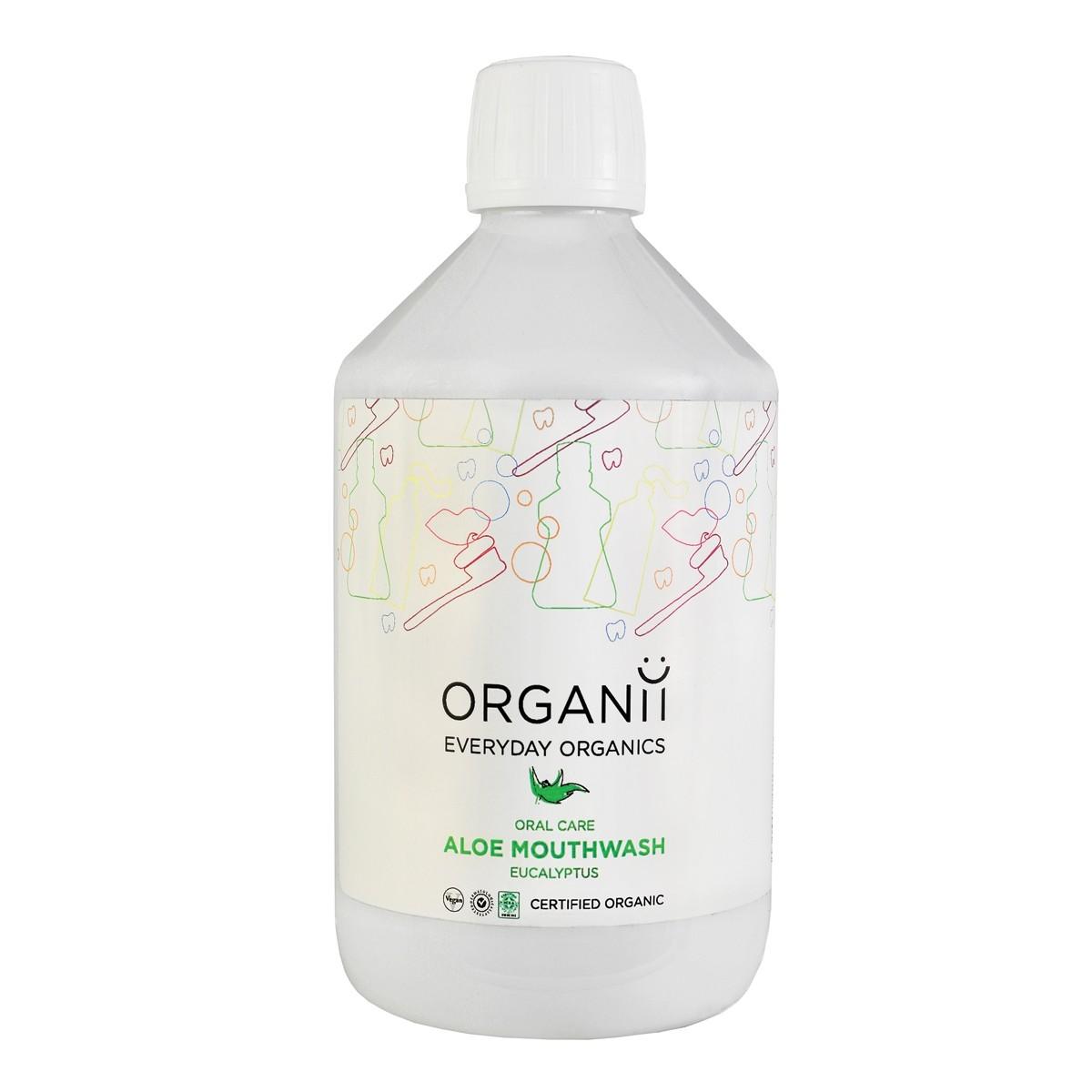 Organii Organic Aloe & Eucalyptus Mouthwash