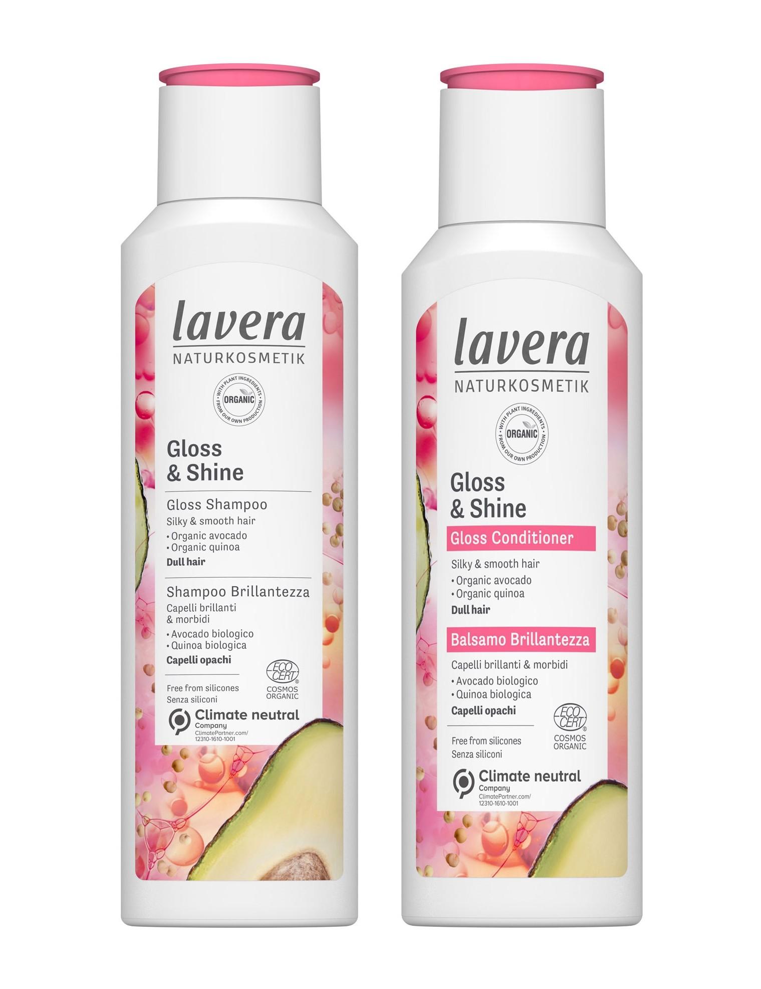 Lavera Gloss & Shine Shampoo & Conditioner