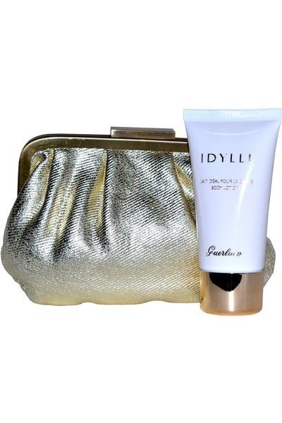 Guerlain Idylle Body Lotion & Pouch Gift Set