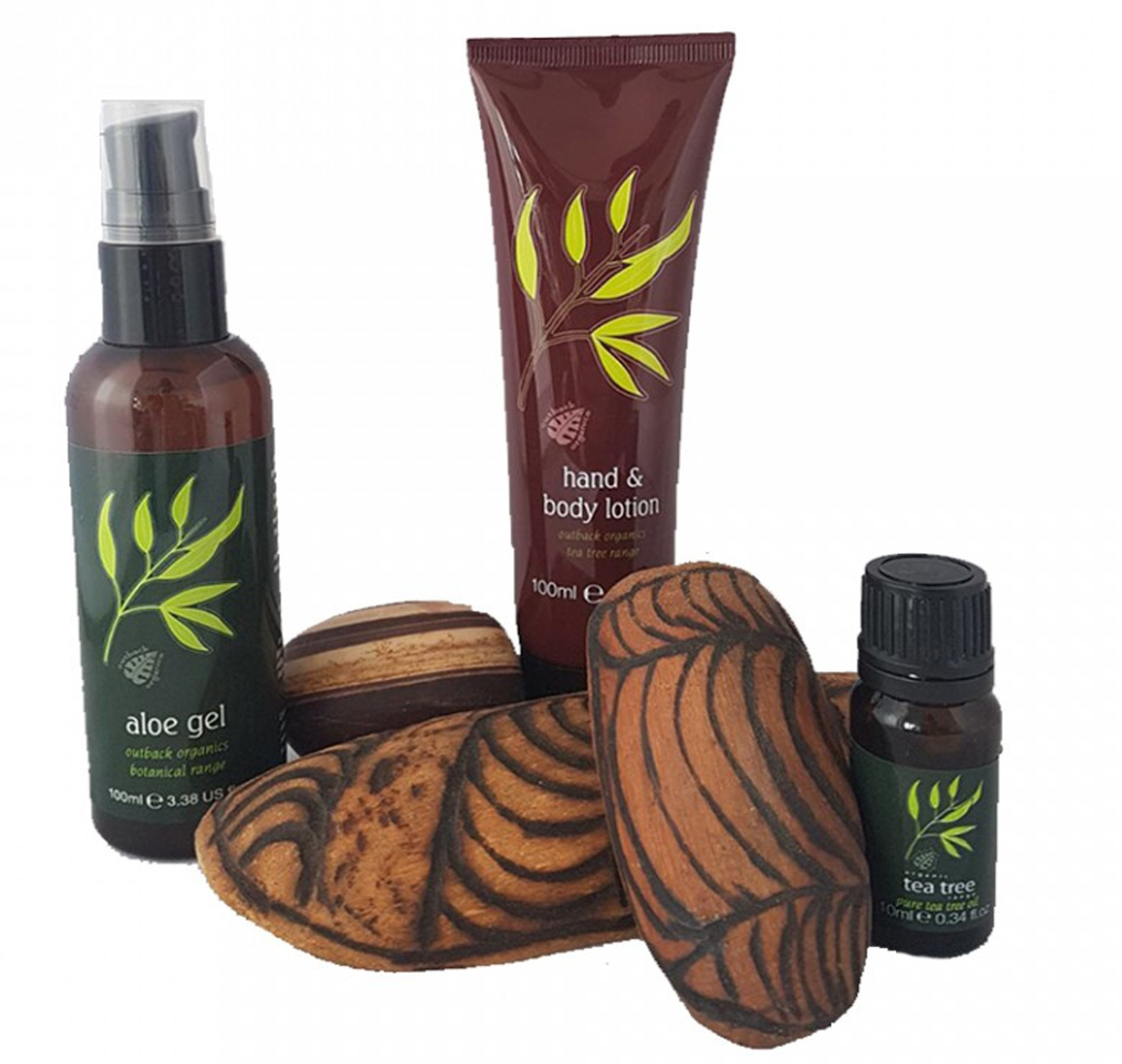 Outback Organics Soothing Aloe Vera & Tea Tree Body Set