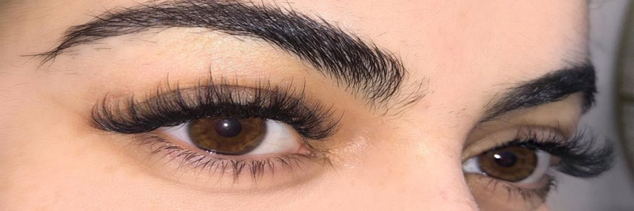 Hybrid Lashes Extension