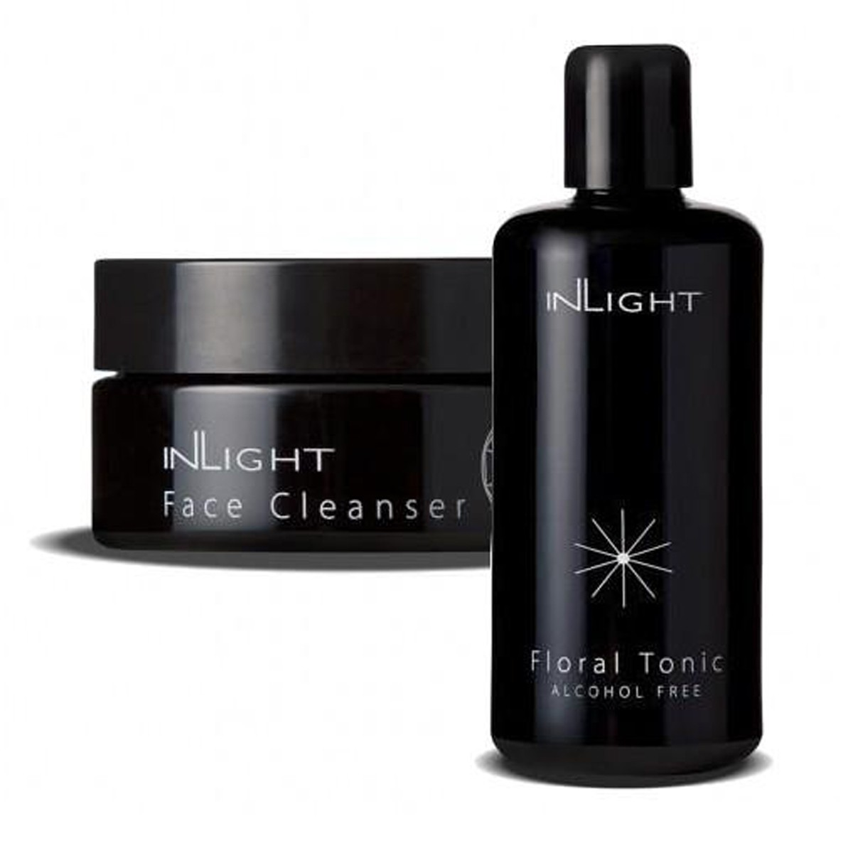 Inlight Cleanser & Floral Face Tonic Set