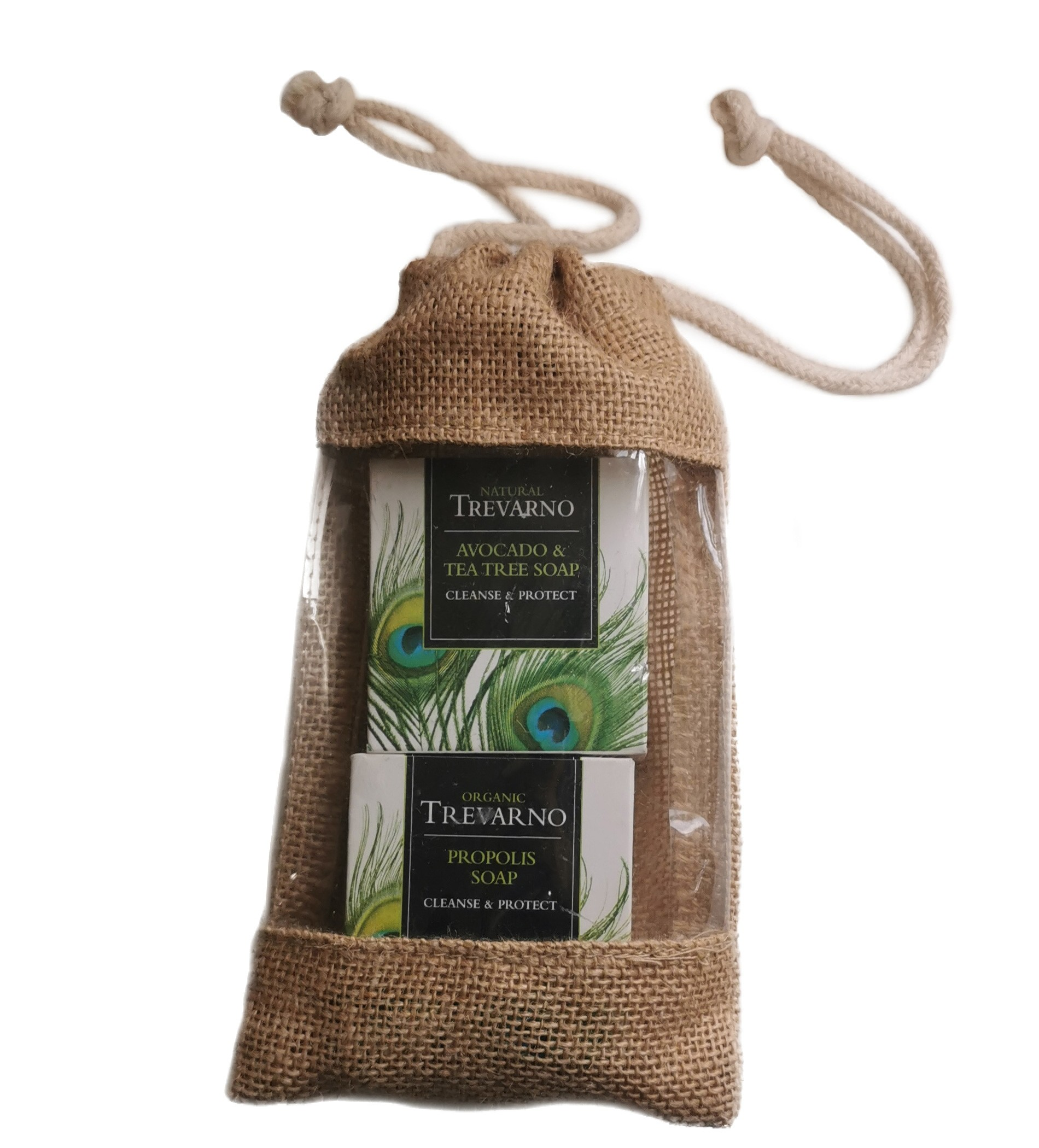 Trevarno Cleanse & Protect Soap Gift Set