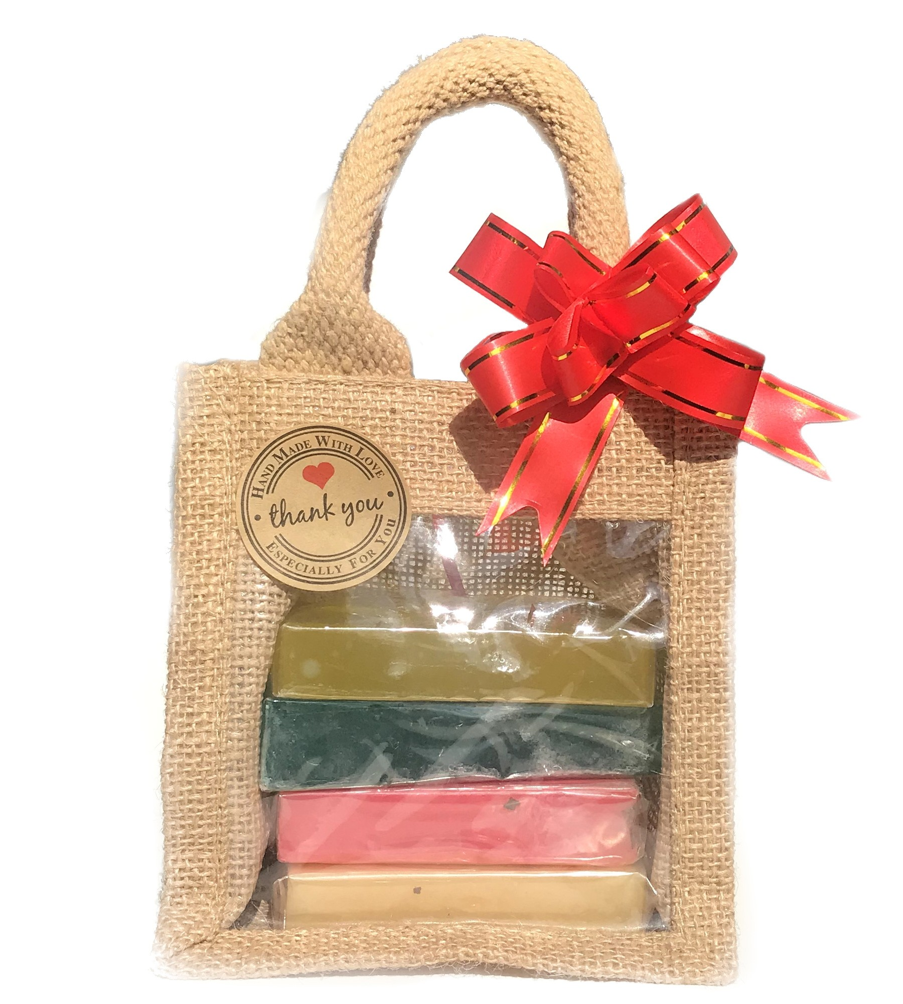 Natural Soap Bar Gift Set