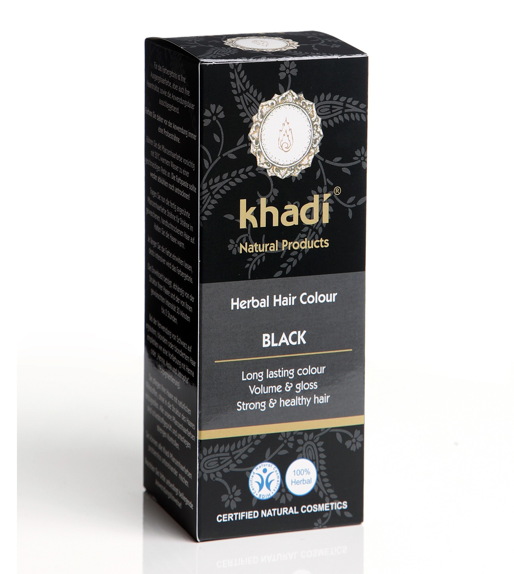 Khadi Herbal Hair Colour Black