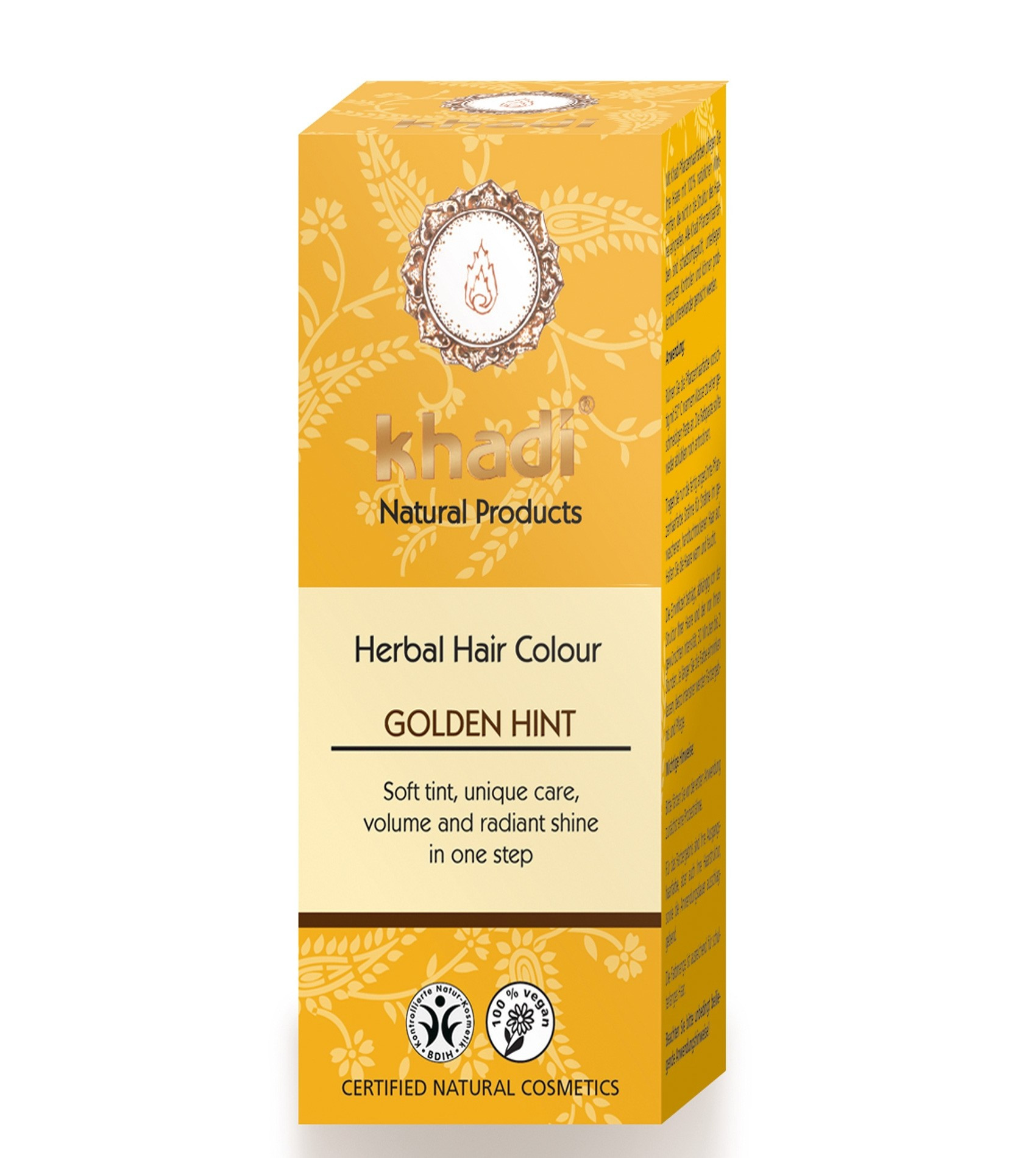 Khadi Herbal Hair Colour Golden Hint Blonde