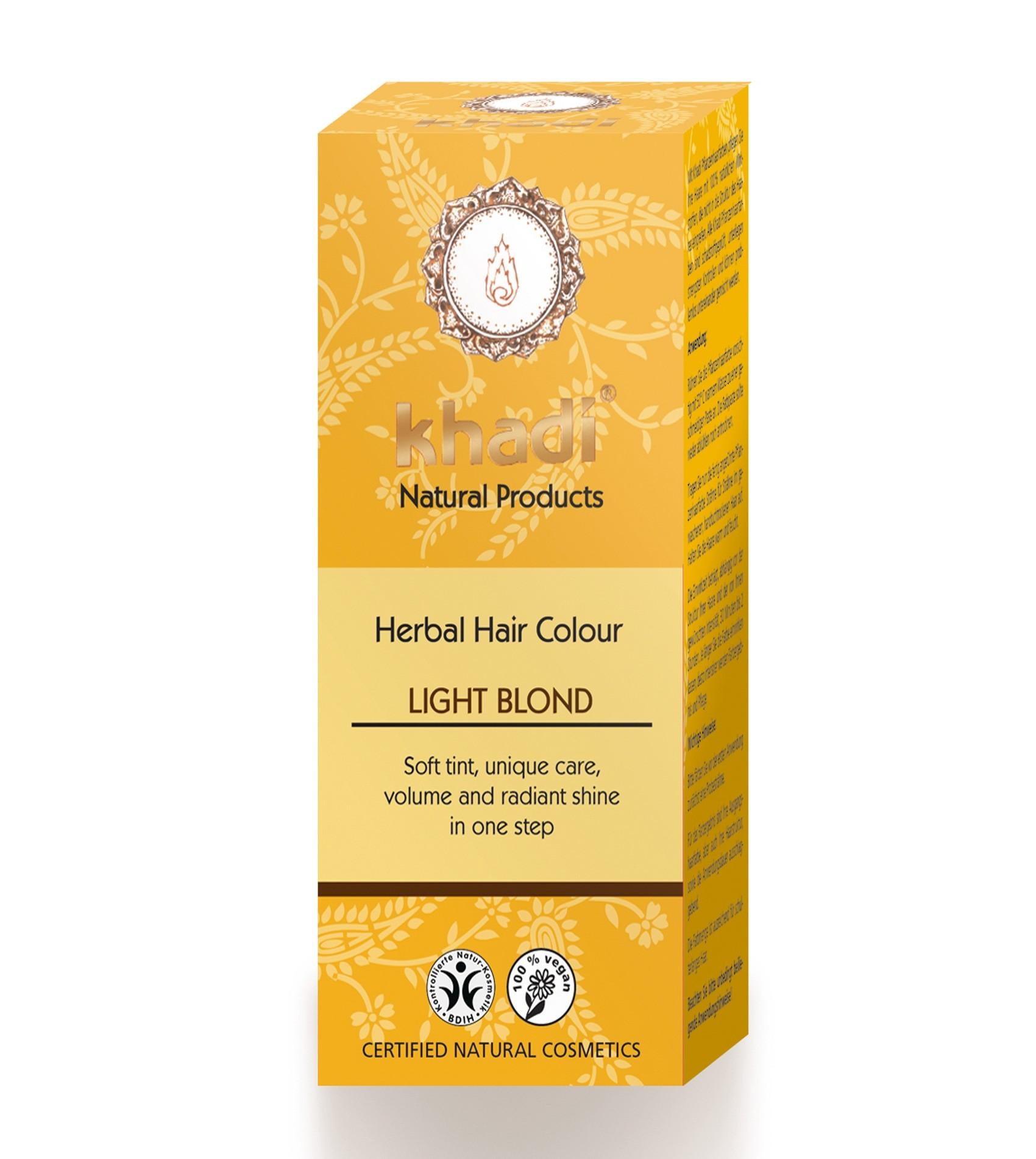 Khadi Herbal Hair Colour Light Blonde