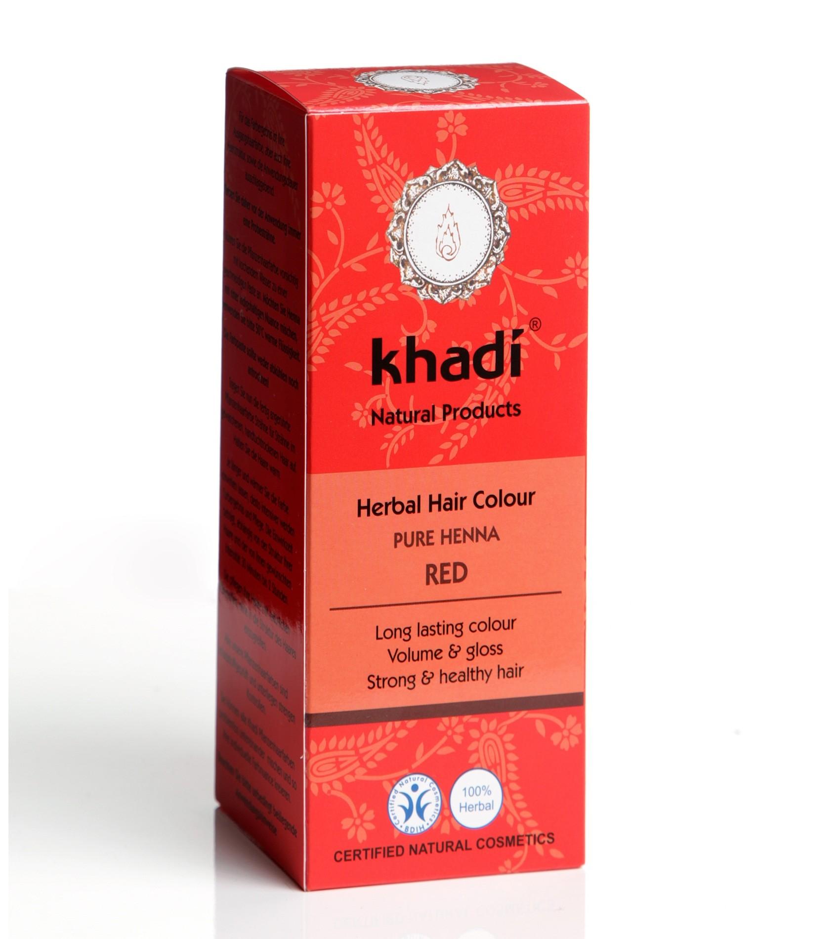 Khadi Herbal Hair Colour Pure Henna Red